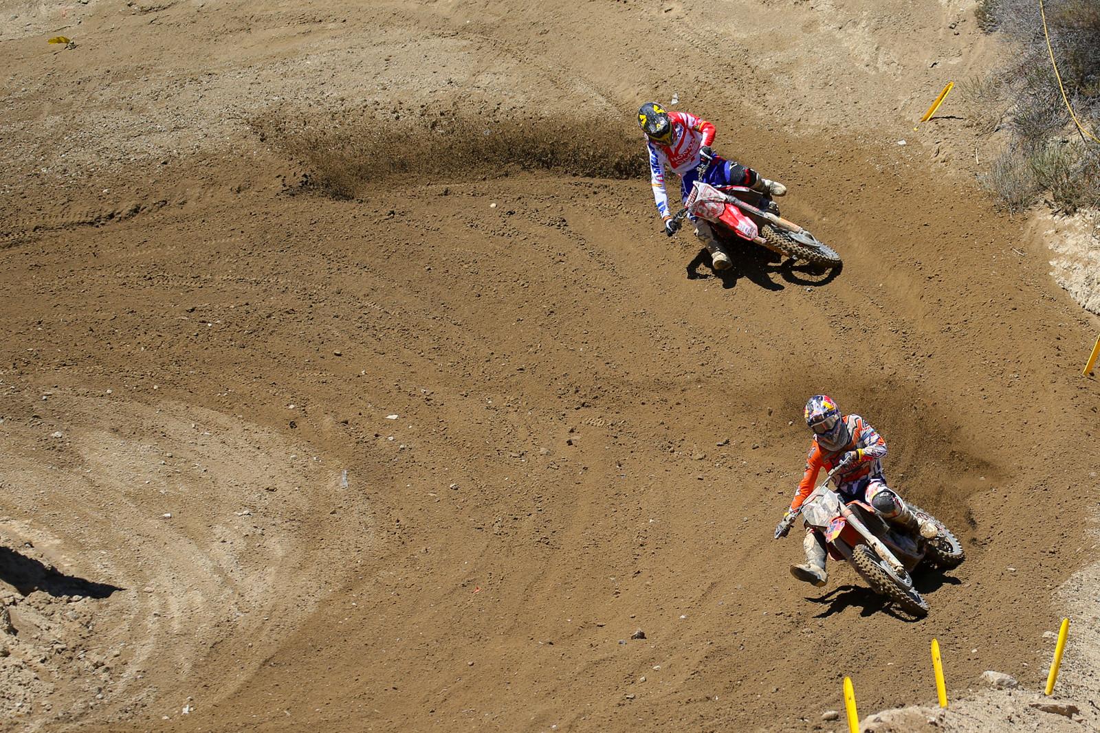Pauls Jonass and Tim Gajser - Photo Blast: MXGP of the USA - Motocross Pictures - Vital MX