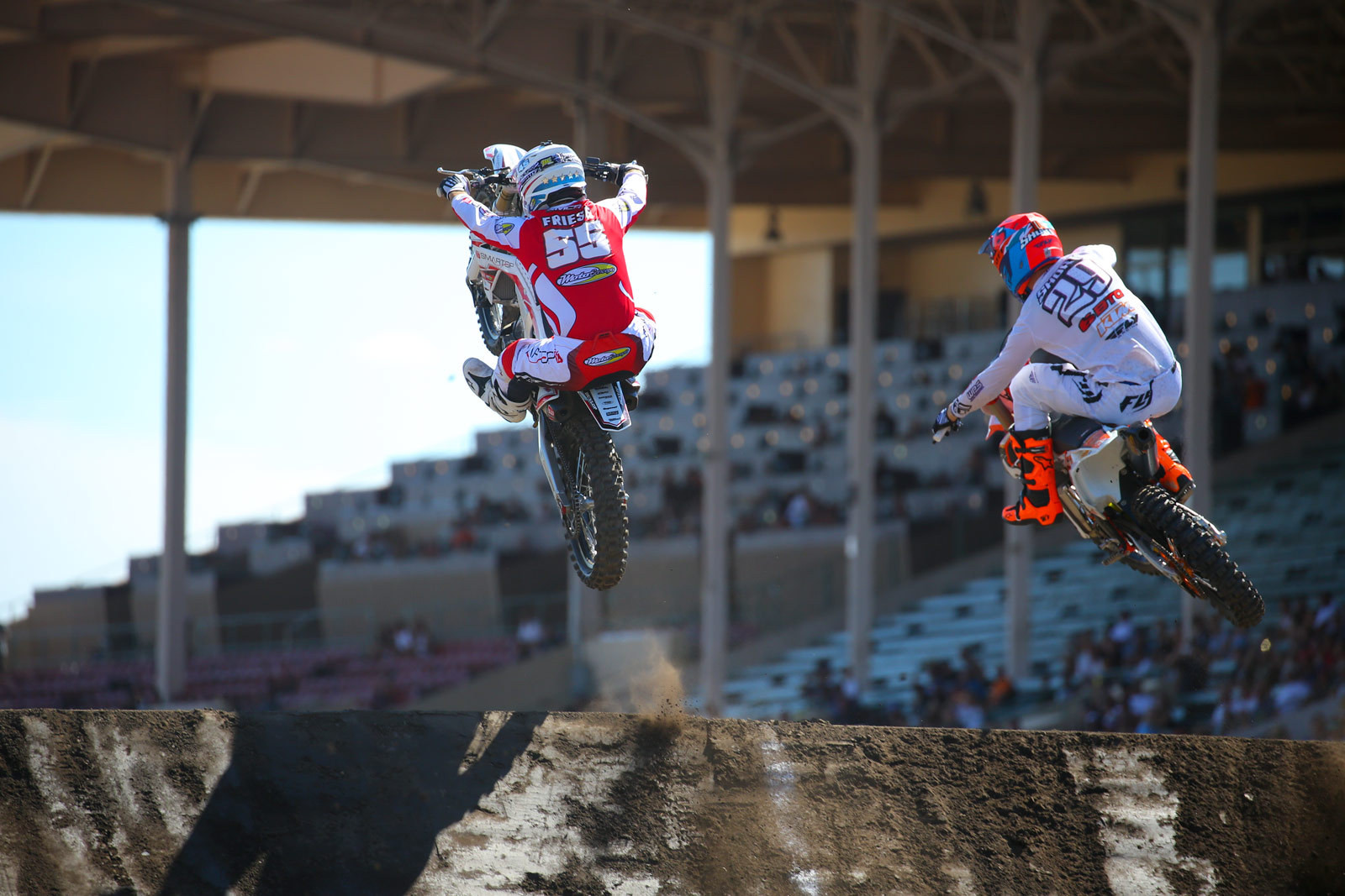 Vince Friese and Andrew Short - Photo Blast: Red Bull Straight Rhythm - Motocross Pictures - Vital MX