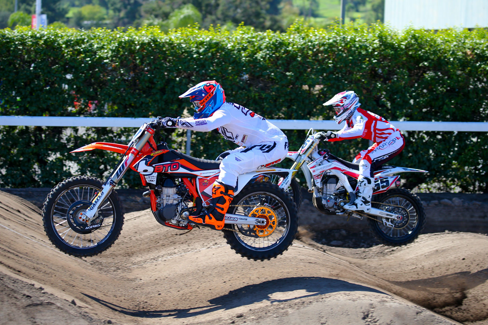 Andrew Short and Vince Friese - Photo Blast: Red Bull Straight Rhythm - Motocross Pictures - Vital MX