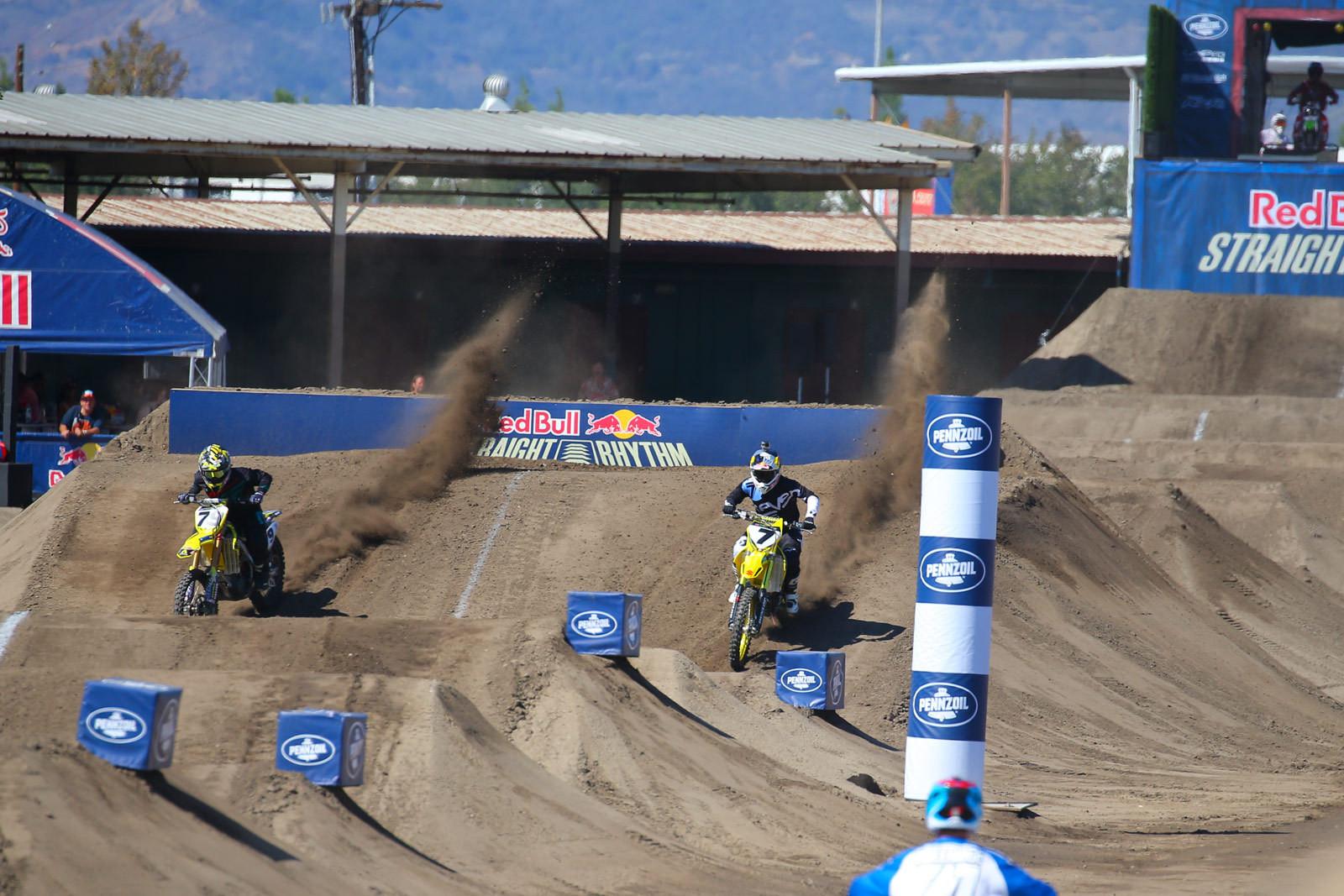 Nick Schmidt and James Stewart - Photo Blast: Red Bull Straight Rhythm - Motocross Pictures - Vital MX