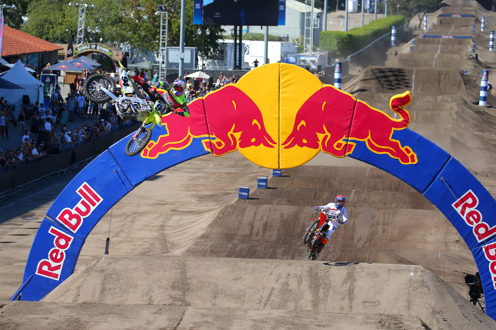 Ken Roczen and Andrew Short - Photo Blast: Red Bull Straight Rhythm - Motocross Pictures - Vital MX