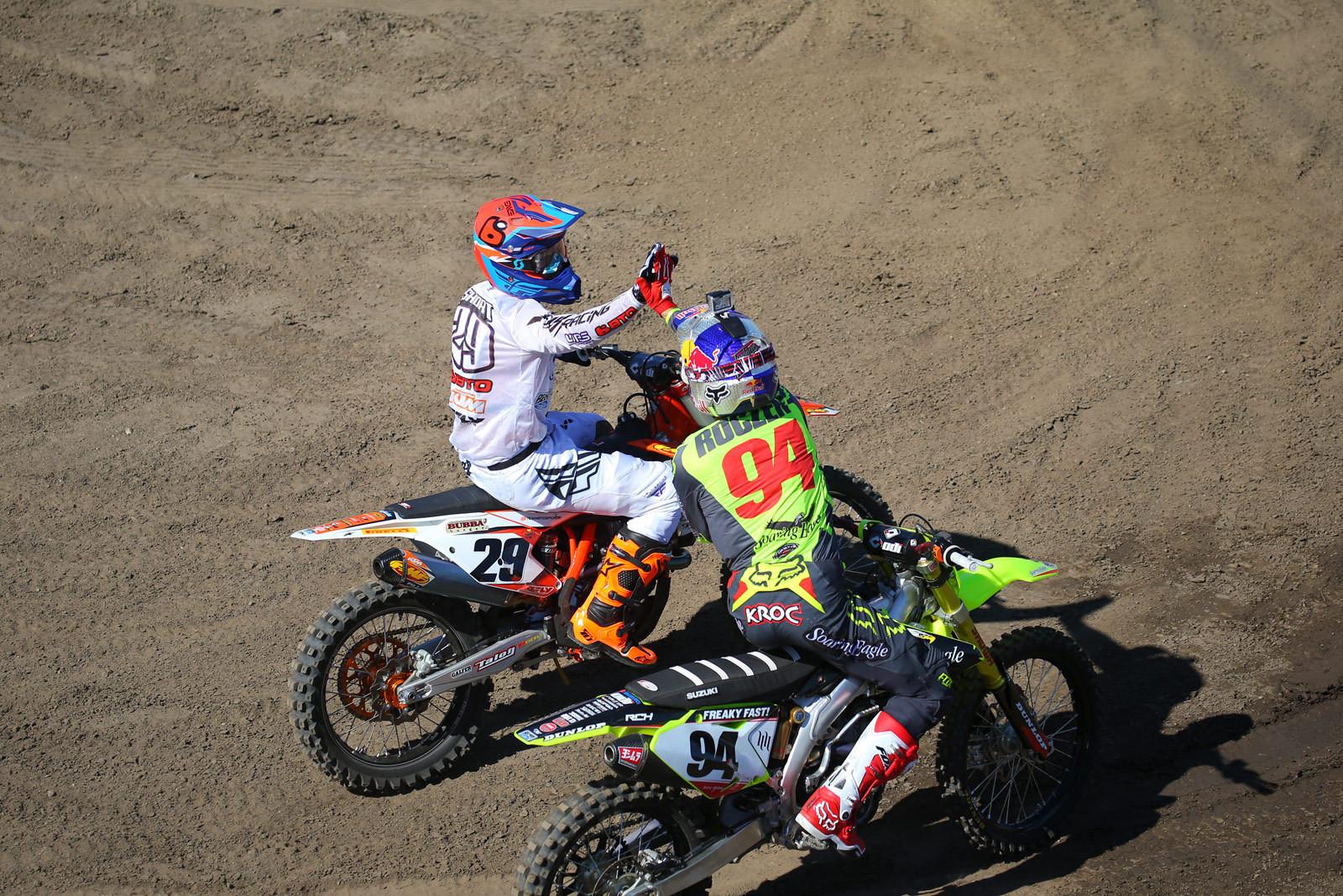Andrew Short and Ken Roczen - Photo Blast: Red Bull Straight Rhythm - Motocross Pictures - Vital MX