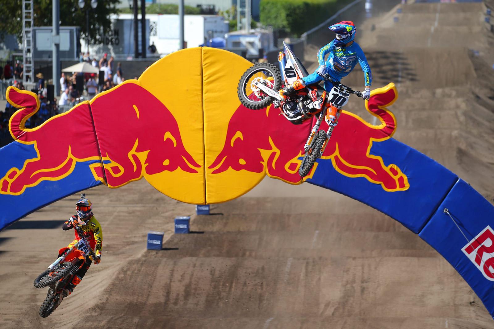 Dean Wilson and Justin Brayton - Photo Blast: Red Bull Straight Rhythm - Motocross Pictures - Vital MX