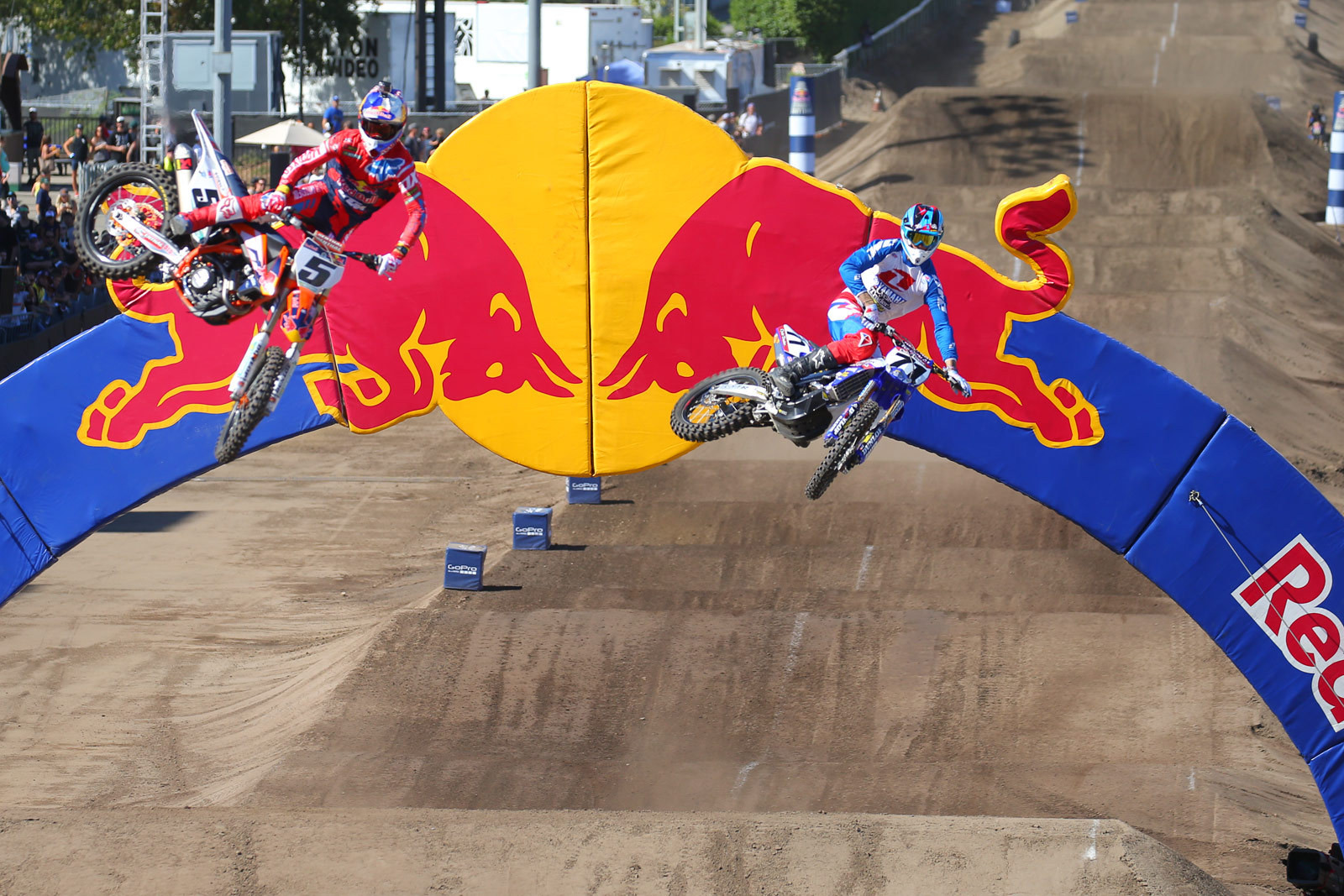 Ryan Dungey and Kyle Partridge - Photo Blast: Red Bull Straight Rhythm - Motocross Pictures - Vital MX
