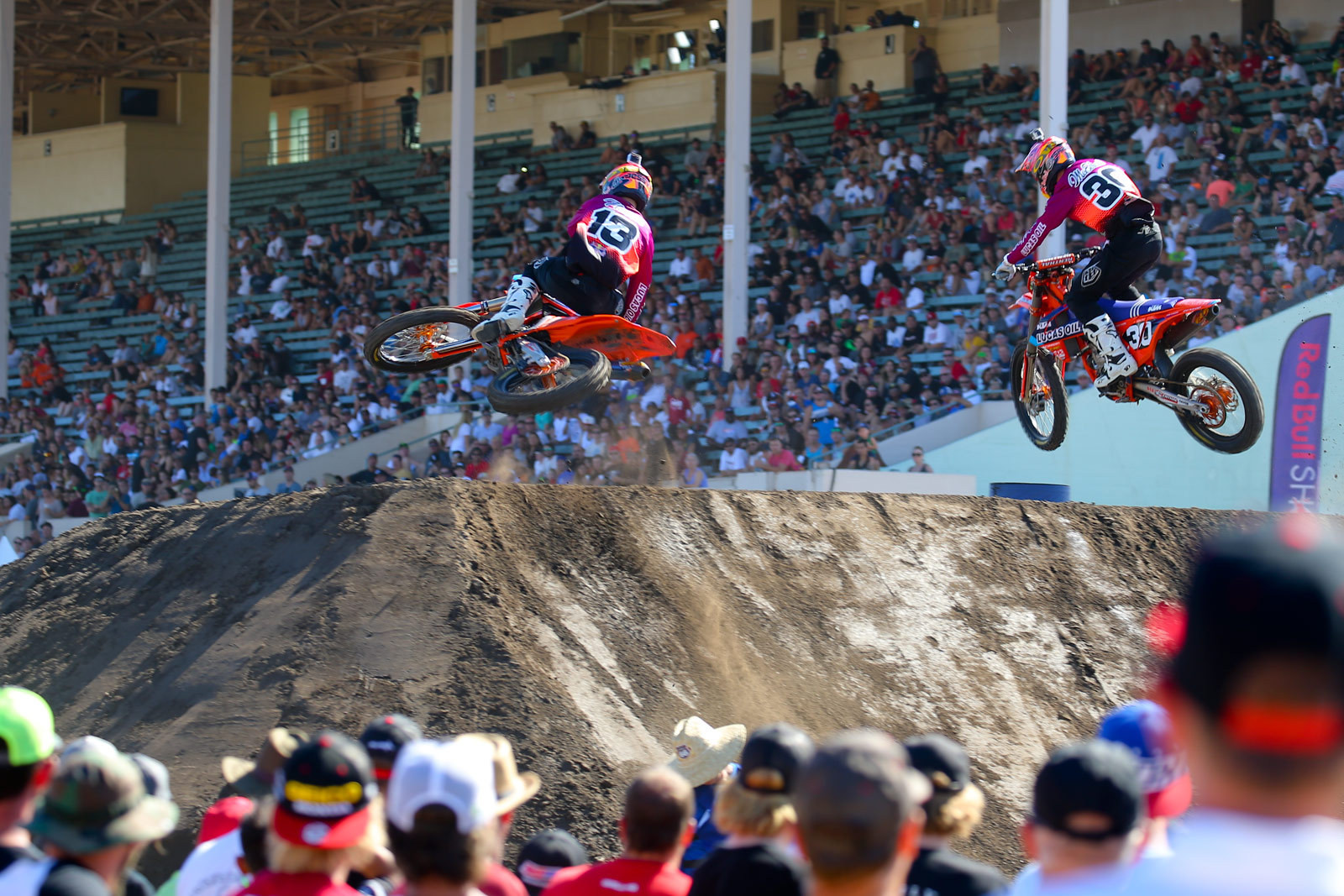 Jessy Nelson and Shane McElrath - Photo Blast: Red Bull Straight Rhythm - Motocross Pictures - Vital MX