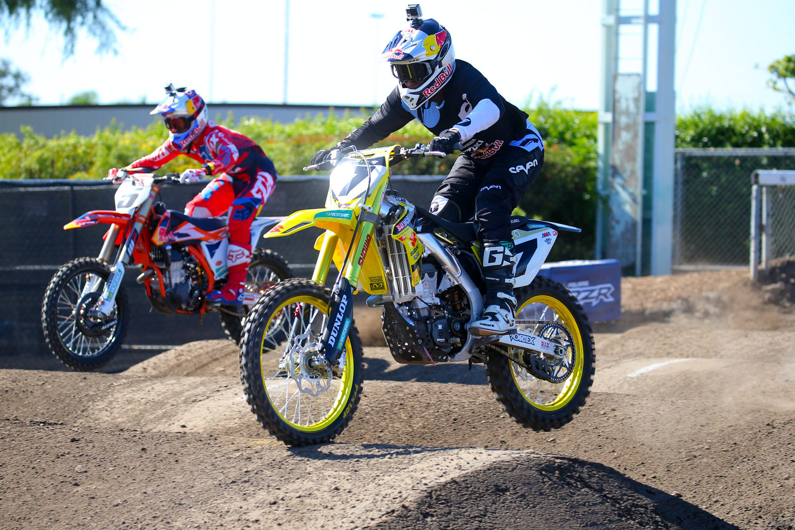 Ryan Dungey and James Stewart - Photo Blast: Red Bull Straight Rhythm - Motocross Pictures - Vital MX