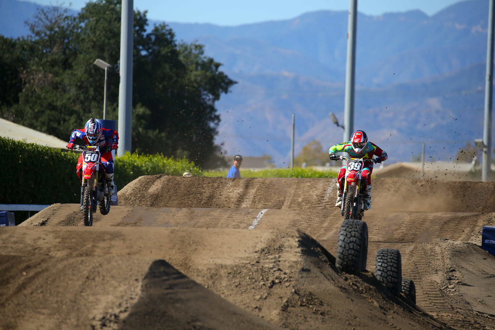 Malcolm Stewart and Jordon Smith - Photo Blast: Red Bull Straight Rhythm - Motocross Pictures - Vital MX