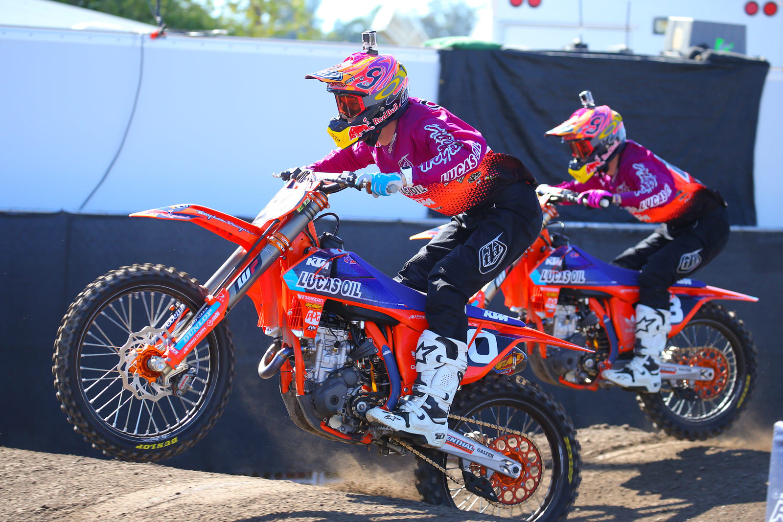 Shane McElrath and Jessy Nelson - Photo Blast: Red Bull Straight Rhythm - Motocross Pictures - Vital MX