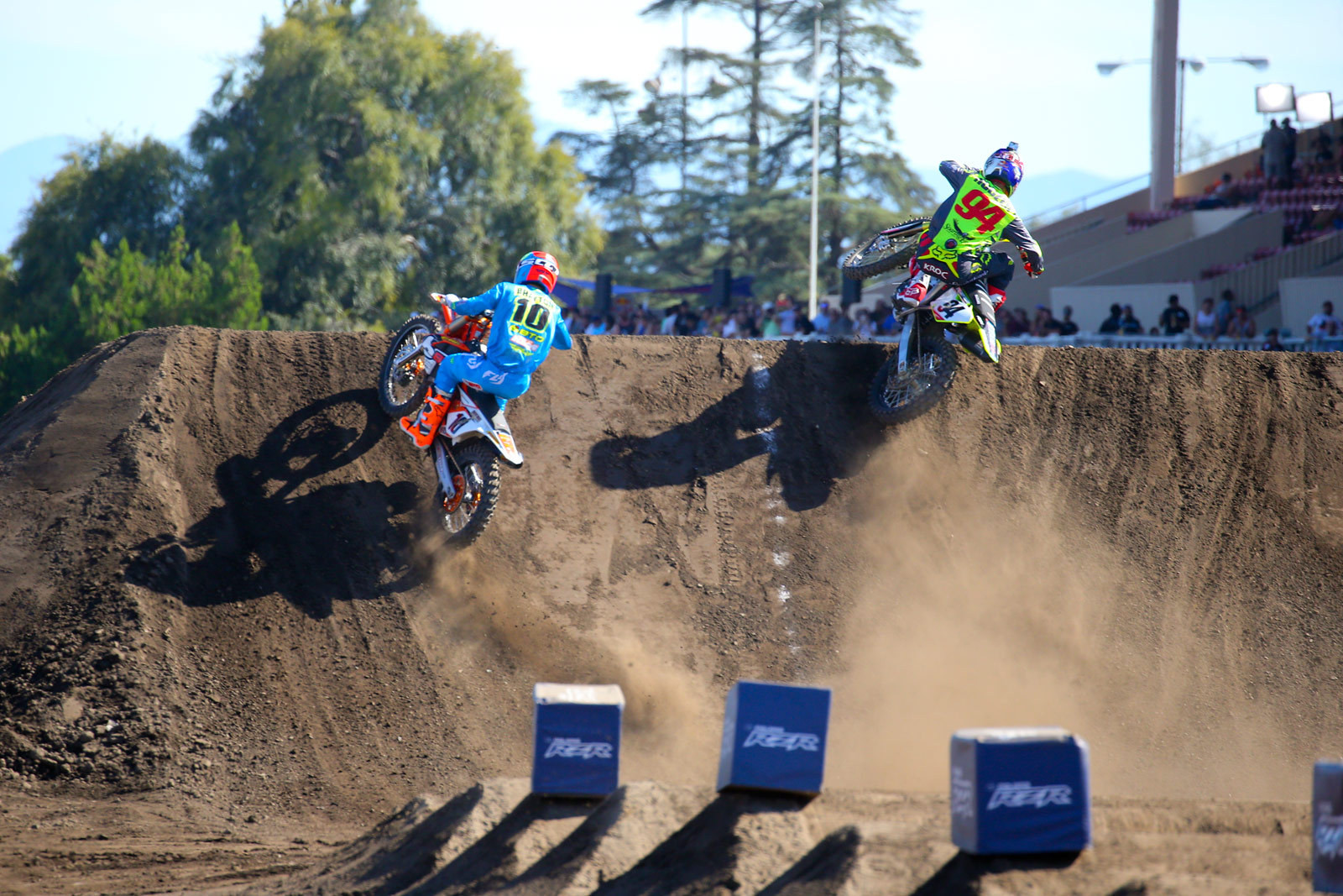 Justin Brayton and Ken Roczen - Photo Blast: Red Bull Straight Rhythm - Motocross Pictures - Vital MX