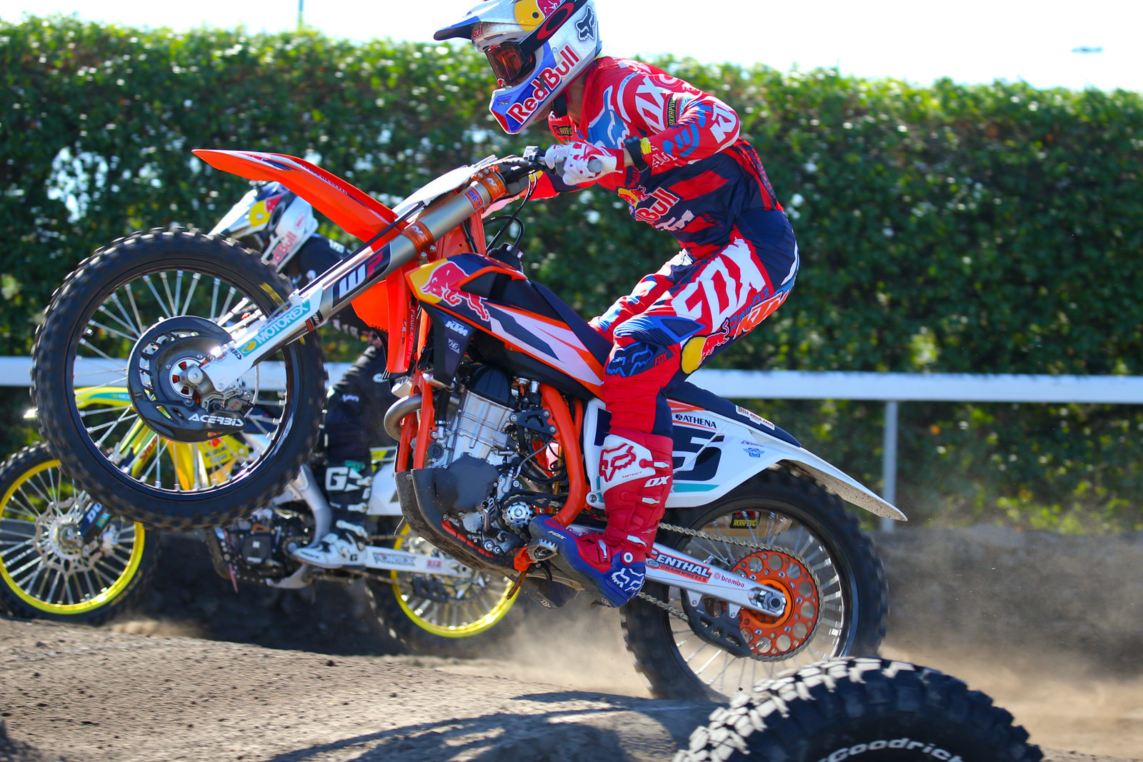 James Stewart and Ryan Dungey - Photo Blast: Red Bull Straight Rhythm - Motocross Pictures - Vital MX