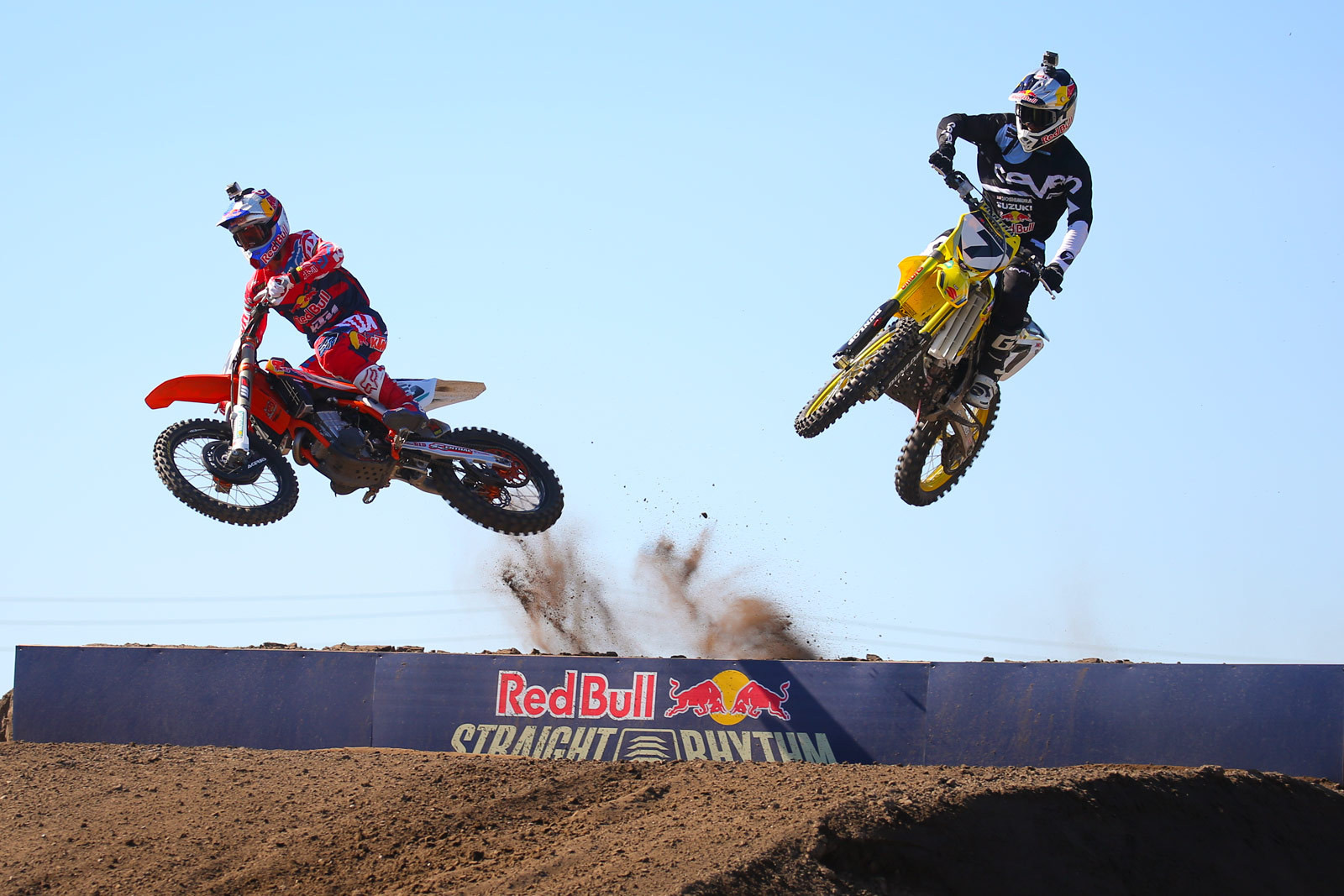 Ryan Dungey and James Stewart - Photo Blast: Red Bull Straight Rhythm - Motocross Pictures - Vital MX