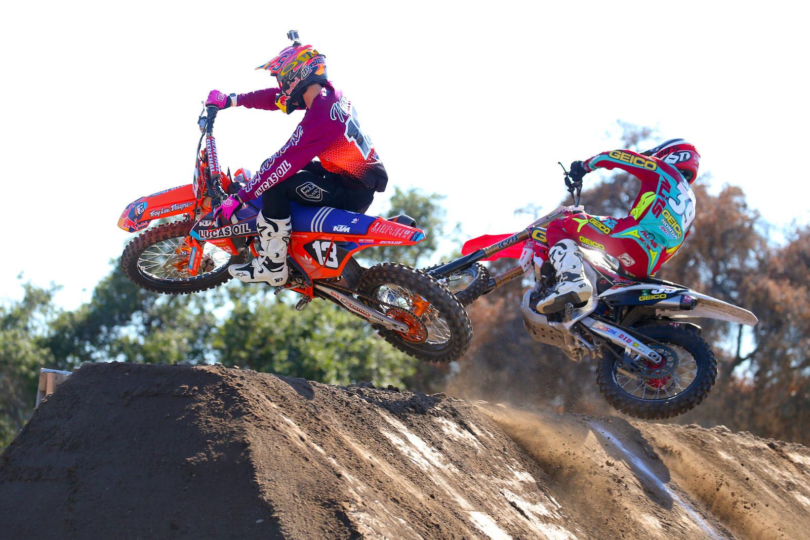 Jessy Nelson and Jordon Smith - Photo Blast: Red Bull Straight Rhythm - Motocross Pictures - Vital MX