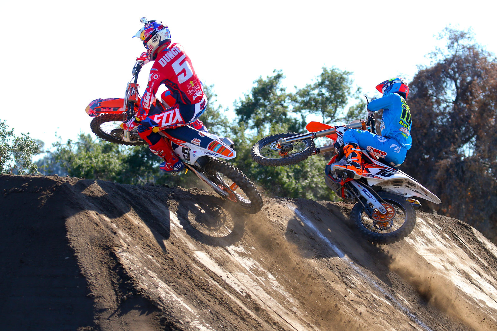 Ryan Dungey and Justin Brayton - Photo Blast: Red Bull Straight Rhythm - Motocross Pictures - Vital MX