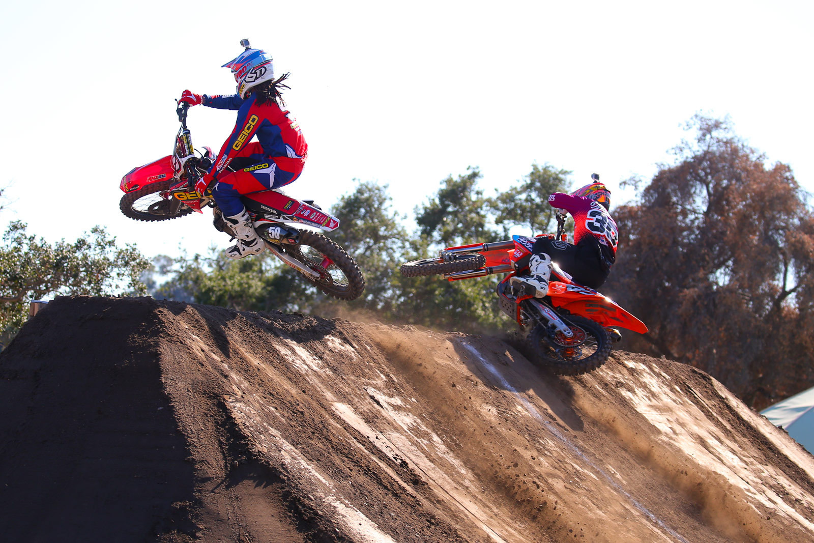 Malcolm Stewart and Shane McElrath - Photo Blast: Red Bull Straight Rhythm - Motocross Pictures - Vital MX