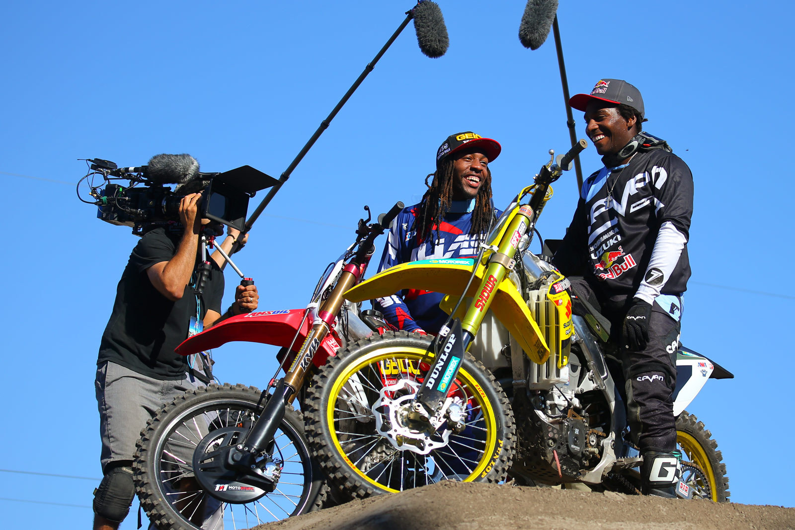 Malcolm Stewart and James Stewart - Photo Blast: Red Bull Straight Rhythm - Motocross Pictures - Vital MX