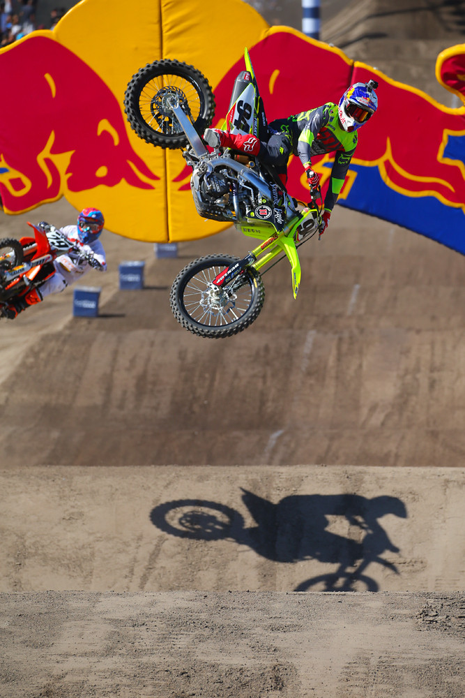 Big Air - Vital MX Pit Bits: Red Bull Straight Rhythm - Motocross Pictures - Vital MX