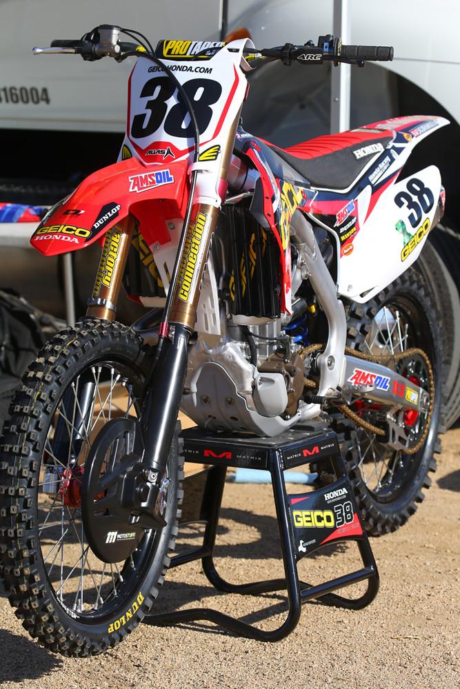 GEICO Honda - Vital MX Pit Bits: Red Bull Straight Rhythm - Motocross Pictures - Vital MX
