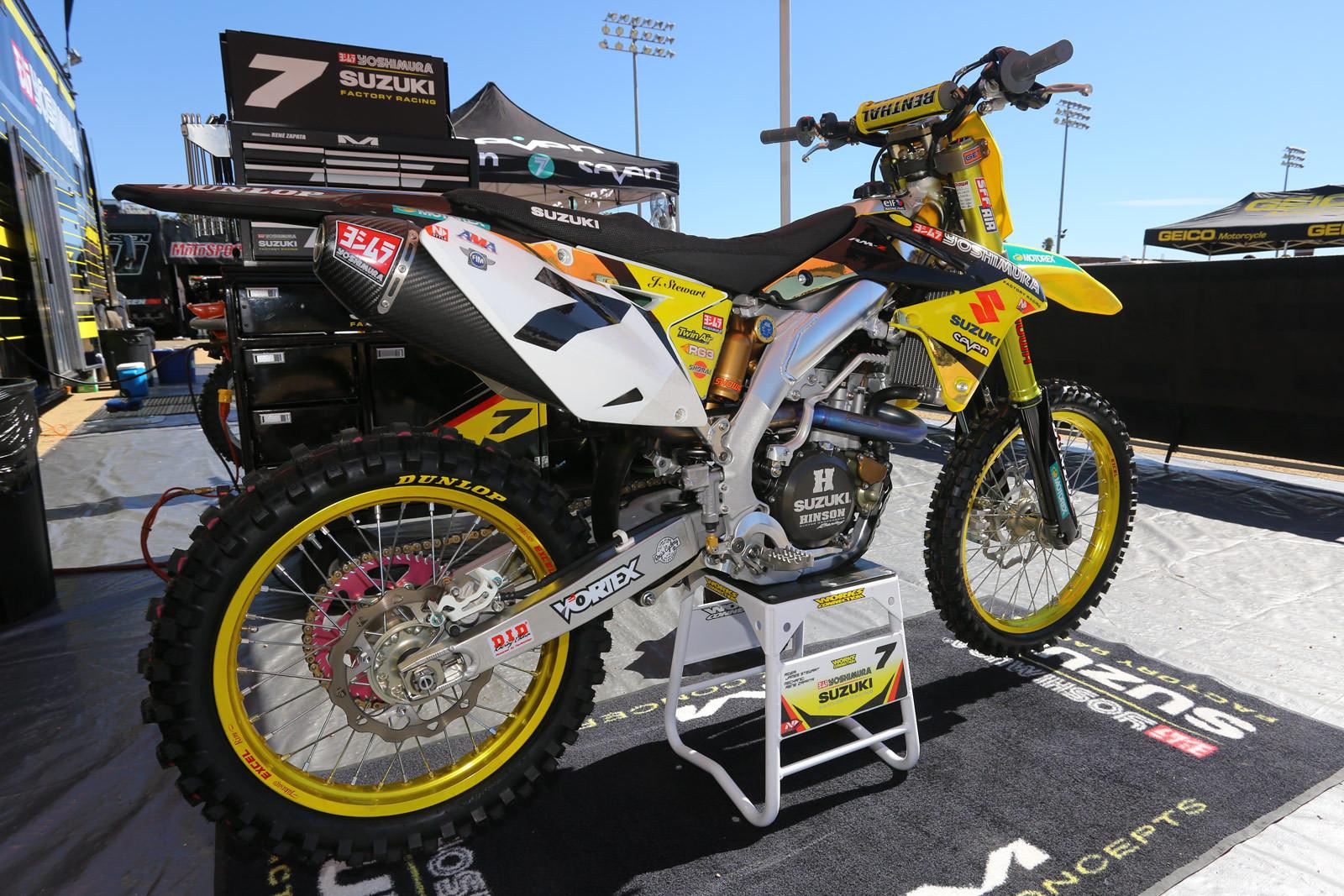 James Stewart - Vital MX Pit Bits: Red Bull Straight Rhythm - Motocross Pictures - Vital MX