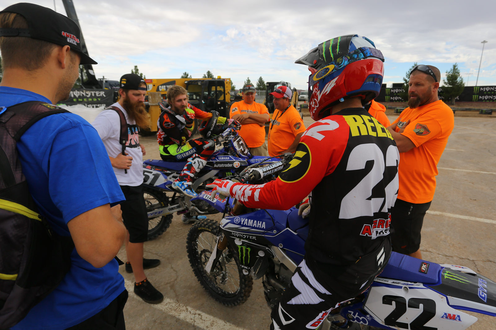 Chad Reed - Vital MX Pit Bits: Monster Energy Cup - Motocross Pictures - Vital MX