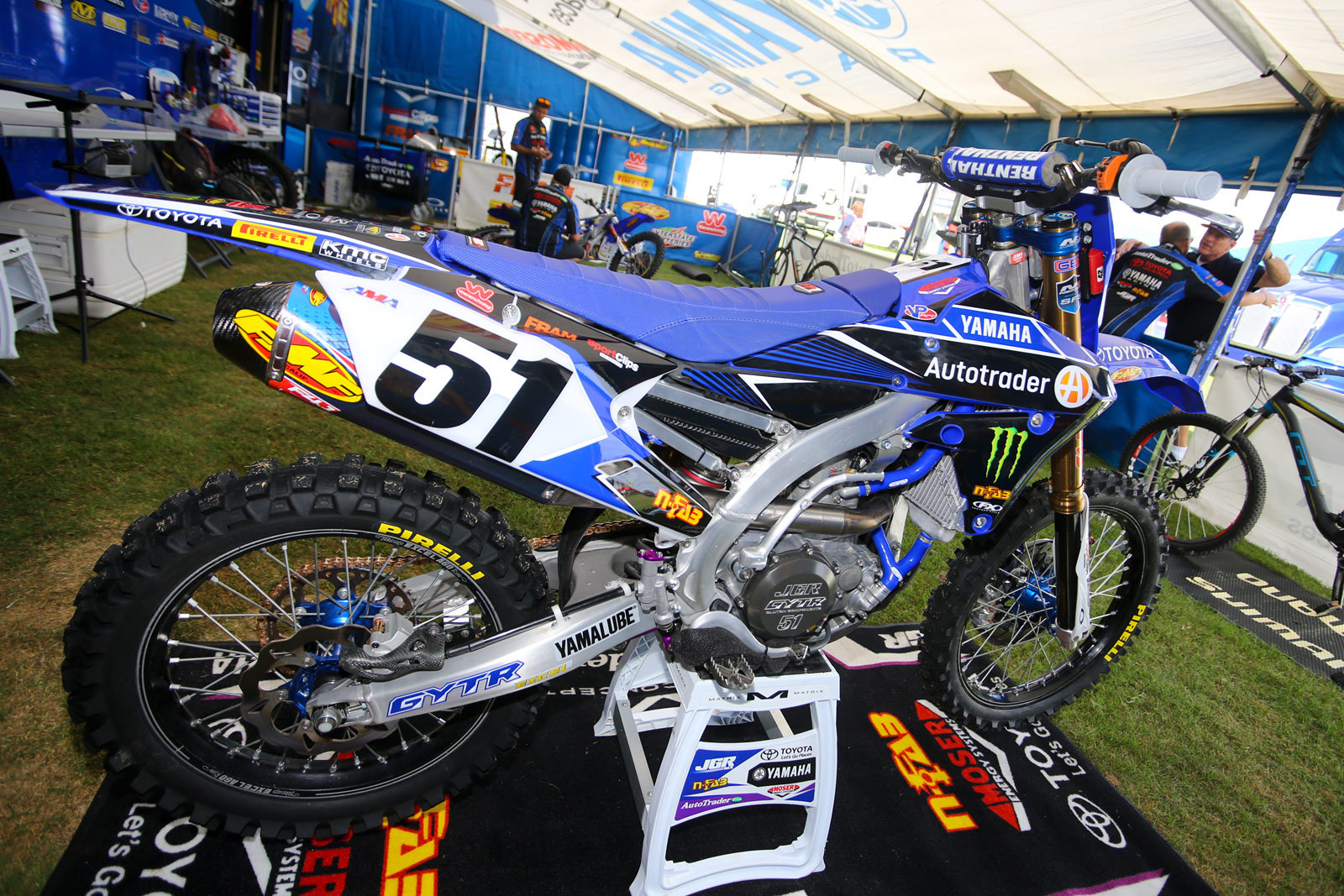AutoTrader.com/Toyota/Yamaha - Vital MX Pit Bits: Monster Energy Cup - Motocross Pictures - Vital MX