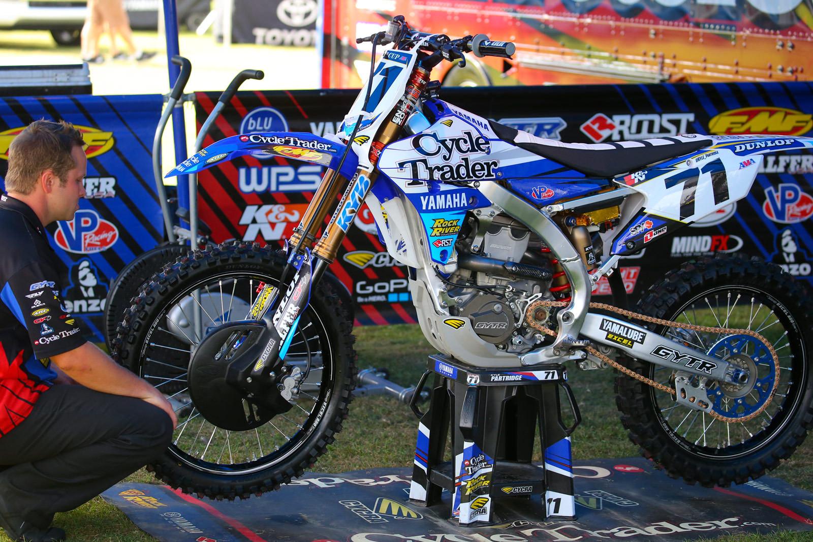 Kyle Partridge - Vital MX Pit Bits: Monster Energy Cup - Motocross Pictures - Vital MX