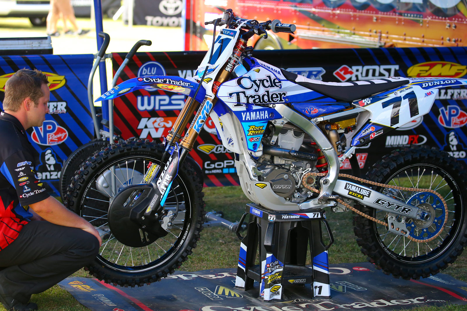 Kyle Partridge - Vital MX Pit Bits: Monster Energy Cup - Motocross Pictures - Vital MX