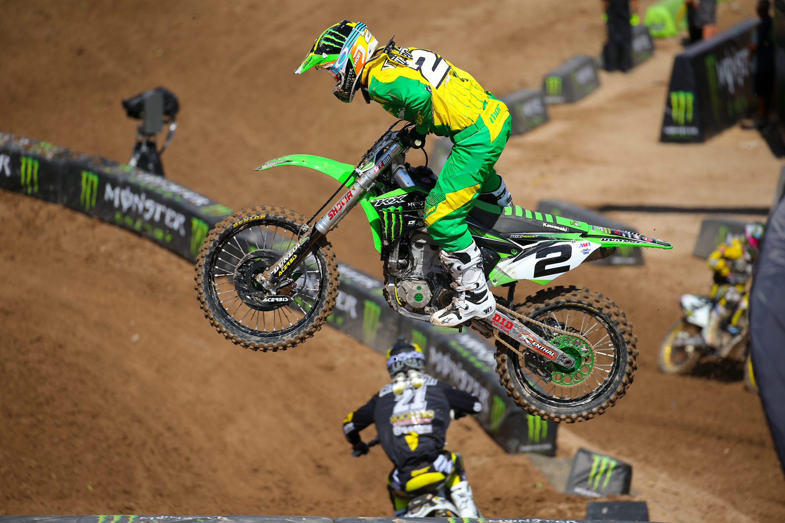 Ryan Villopoto - Vital MX Pit Bits: Monster Energy Cup - Motocross Pictures - Vital MX