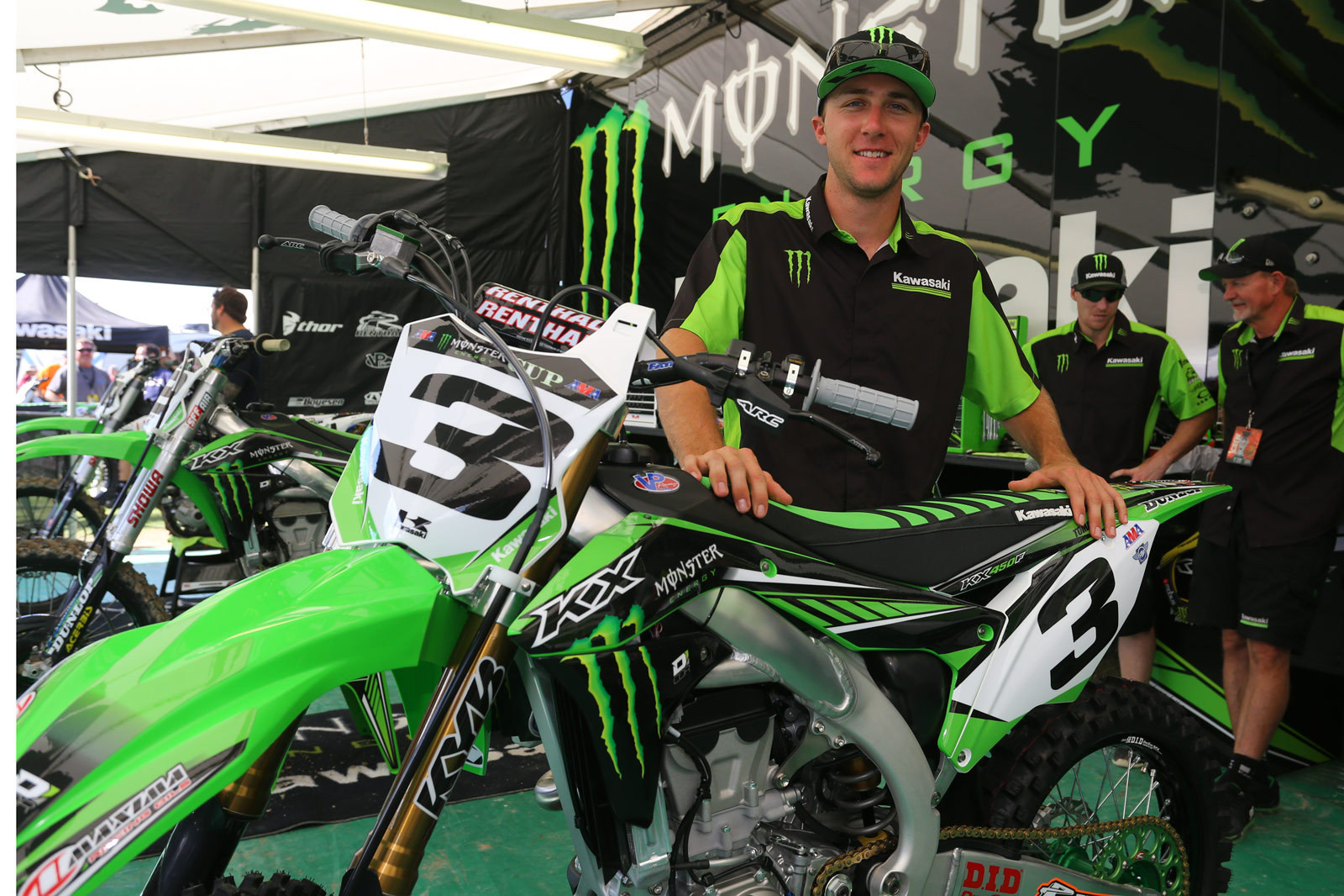Eli Tomac - Vital MX Pit Bits: Monster Energy Cup - Motocross Pictures - Vital MX