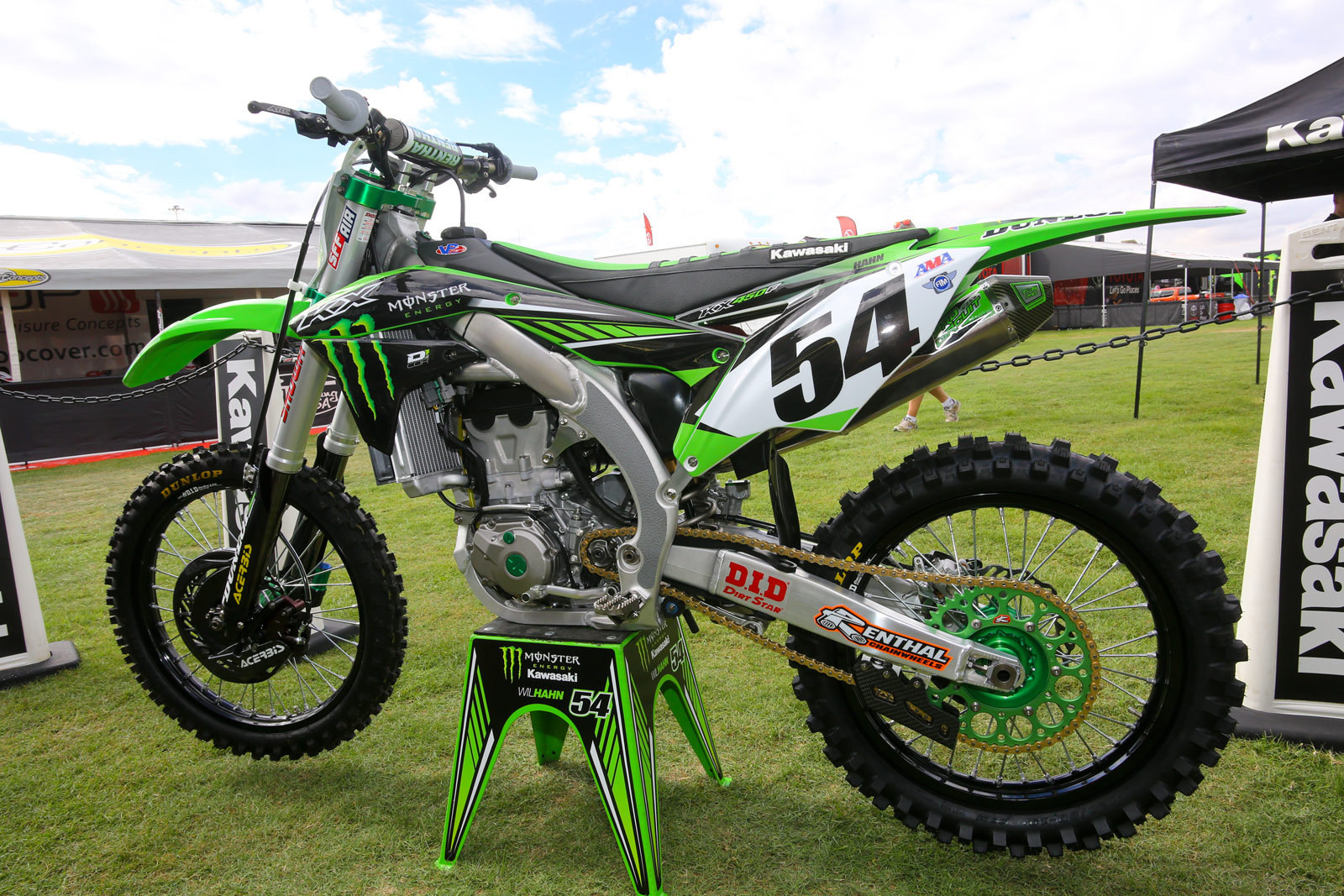 Wil Hahn - Vital MX Pit Bits: Monster Energy Cup - Motocross Pictures - Vital MX