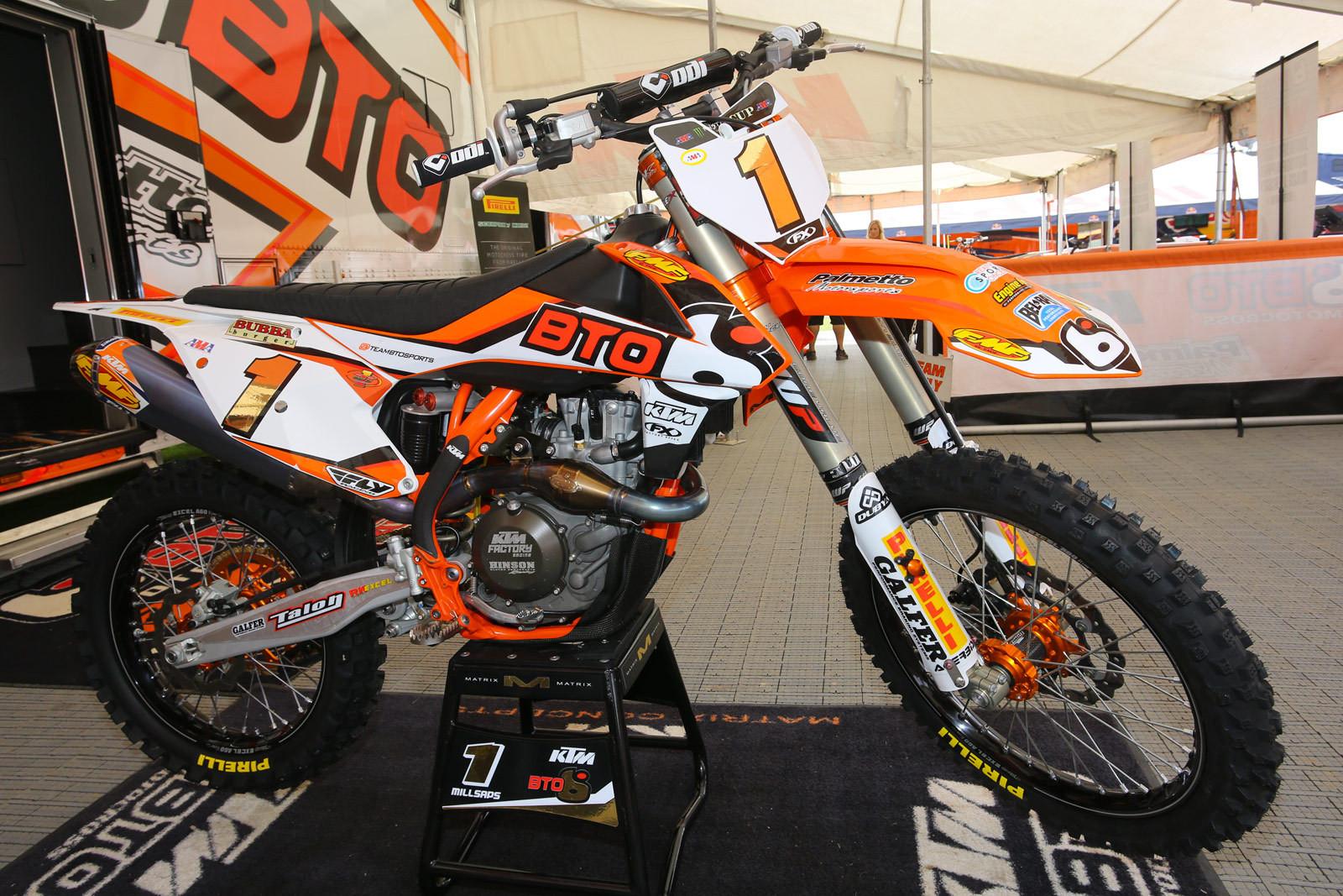 Davi Millsaps - Vital MX Pit Bits: Monster Energy Cup - Motocross Pictures - Vital MX