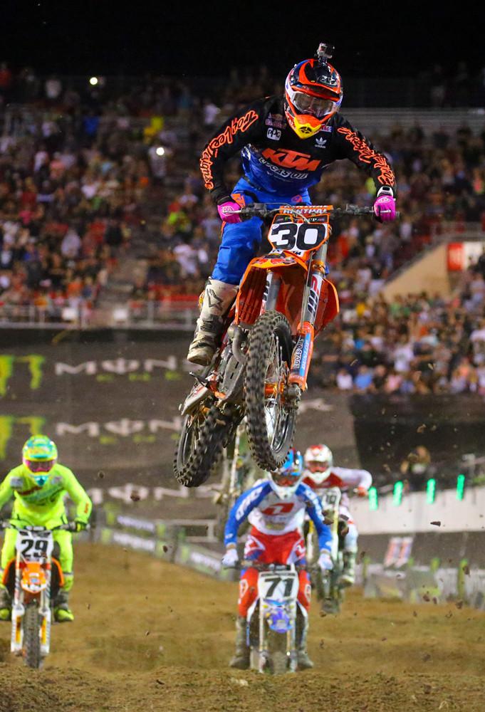 Shane McElrath - Vital MX Pit Bits: Monster Energy Cup - Motocross Pictures - Vital MX