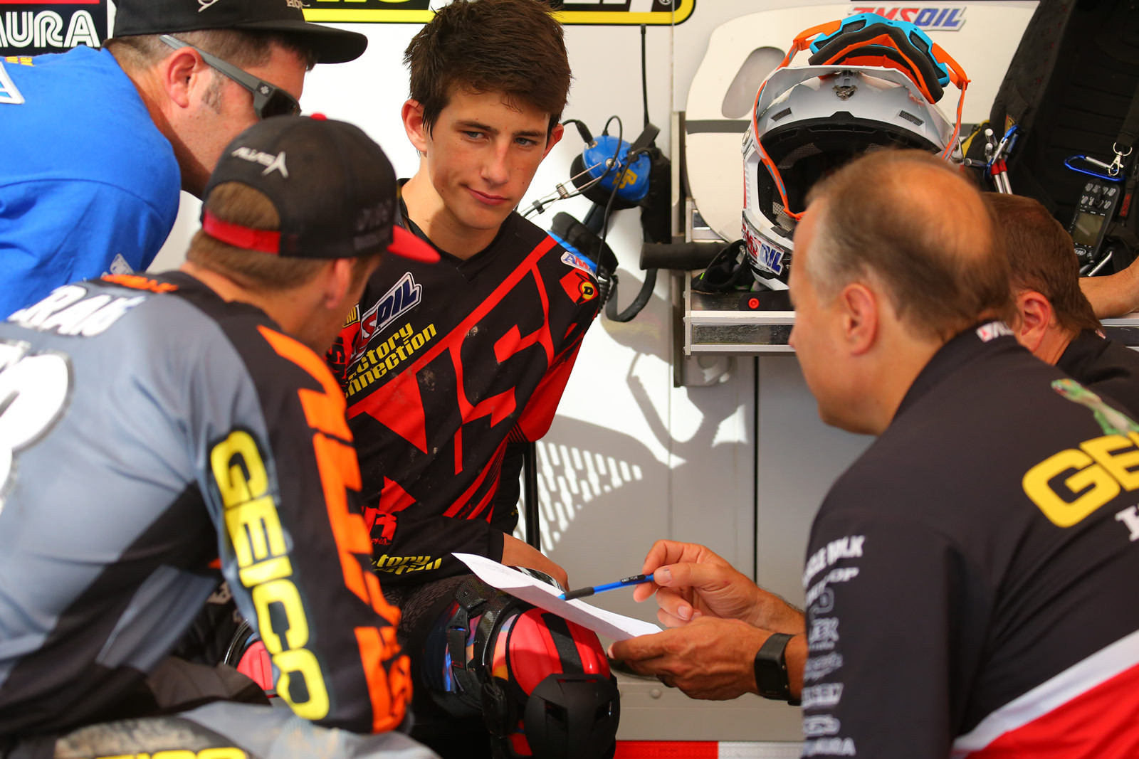Chase Sexton - Vital MX Pit Bits: Monster Energy Cup - Motocross Pictures - Vital MX