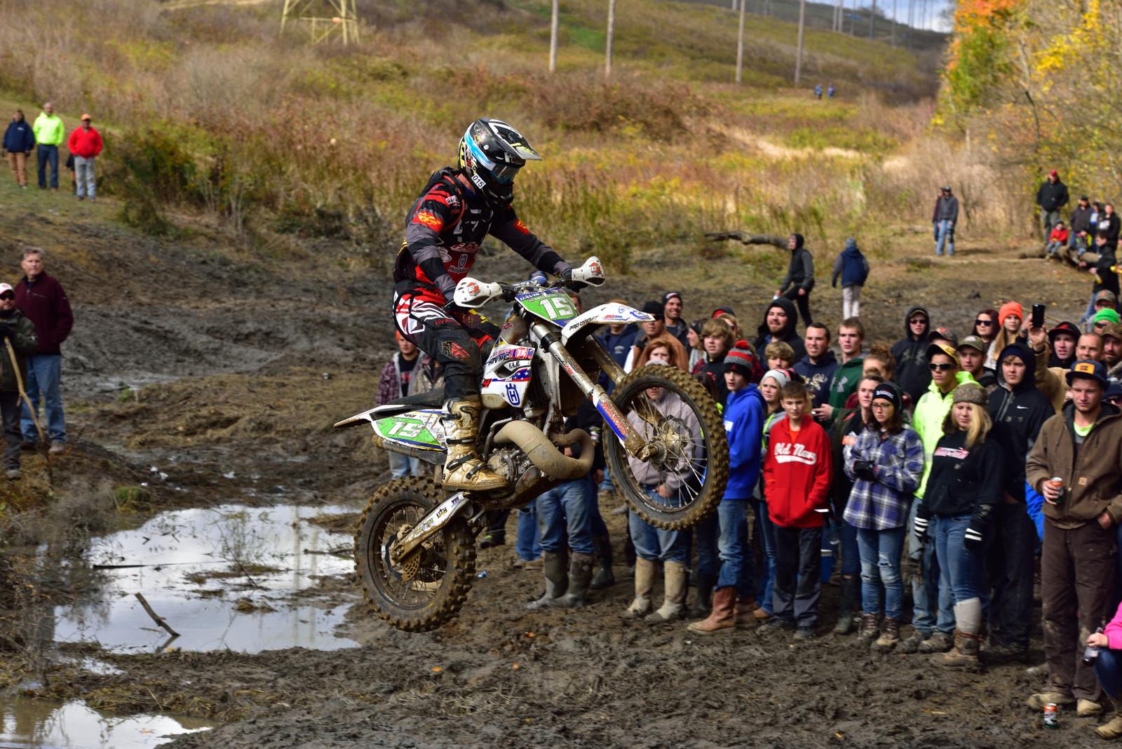 The creek jump - Photo Blast: Powerline Park GNCC - Motocross Pictures - Vital MX