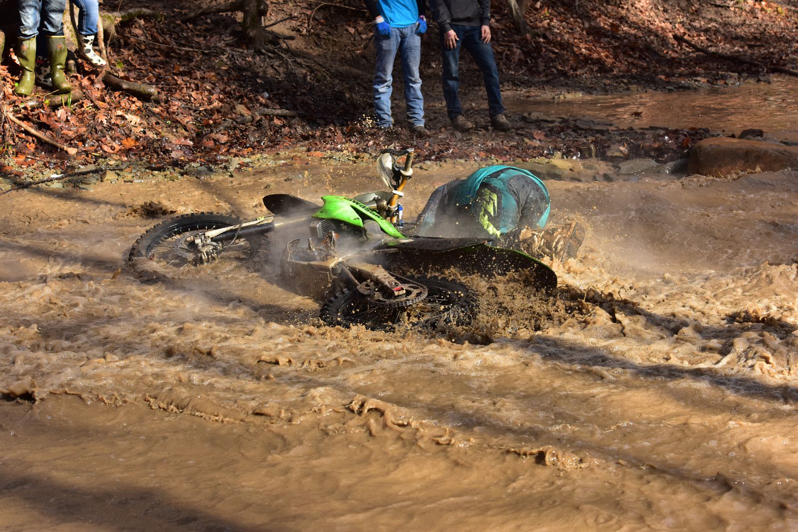 Creek crossing - Photo Blast: Ironman GNCC - Motocross Pictures - Vital MX