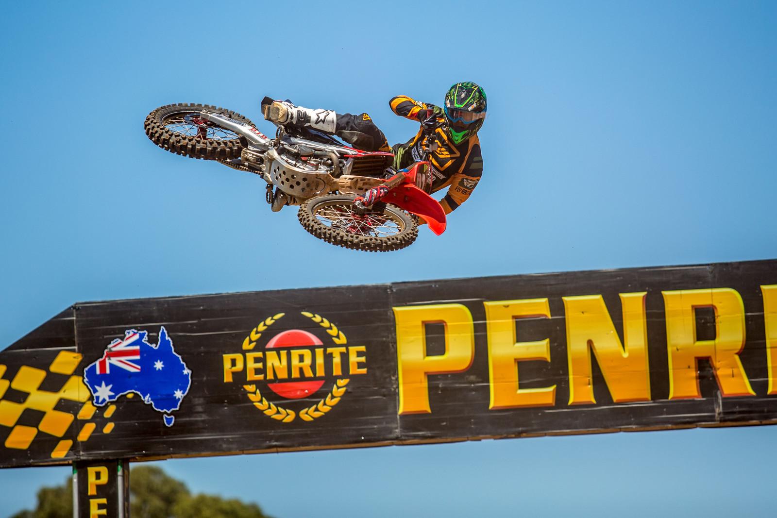 Taylor Potter - Photo Blast: Australian Supercross Championship from Adelaide - Motocross Pictures - Vital MX