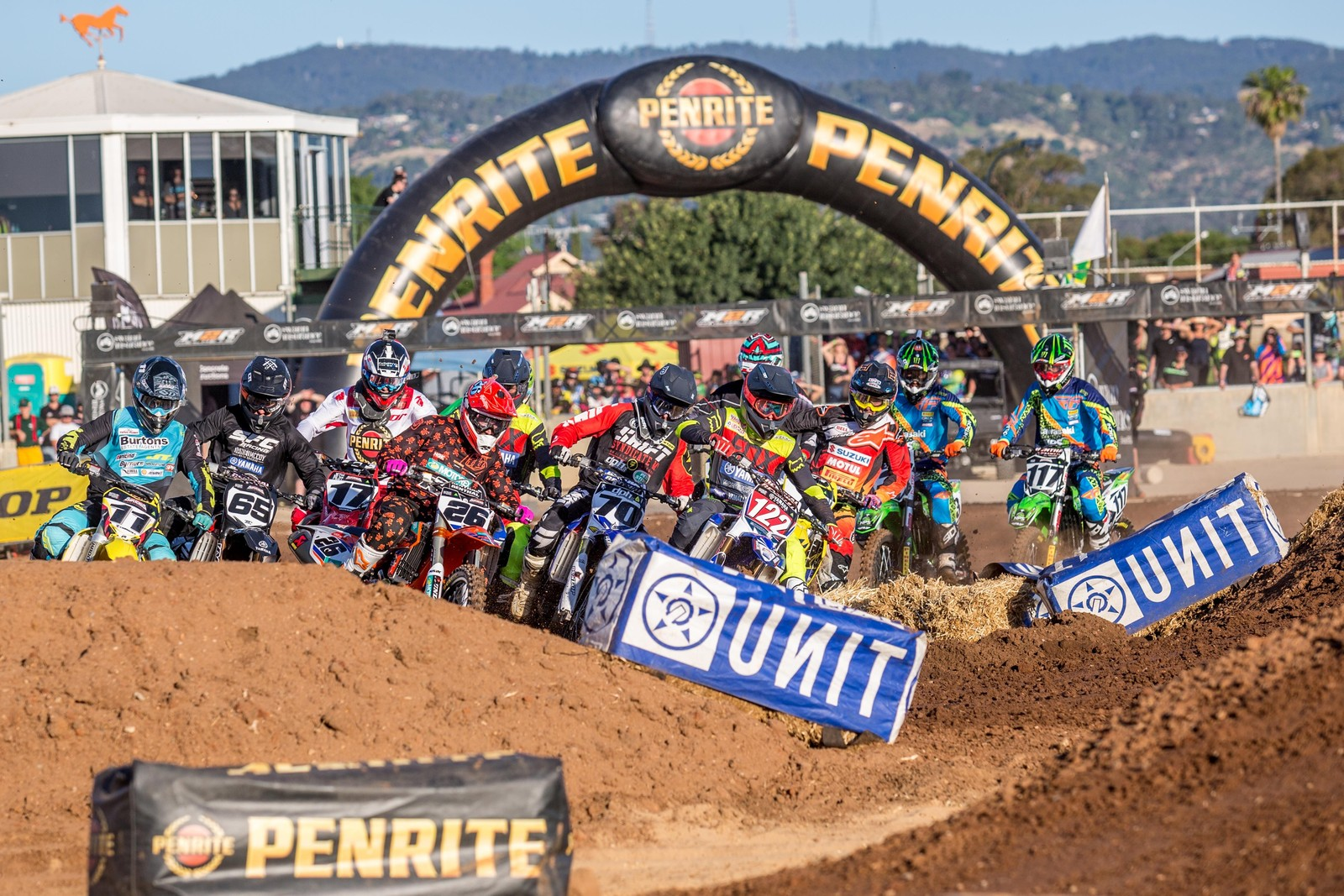 450 heat race - Photo Blast: Australian Supercross Championship from Adelaide - Motocross Pictures - Vital MX