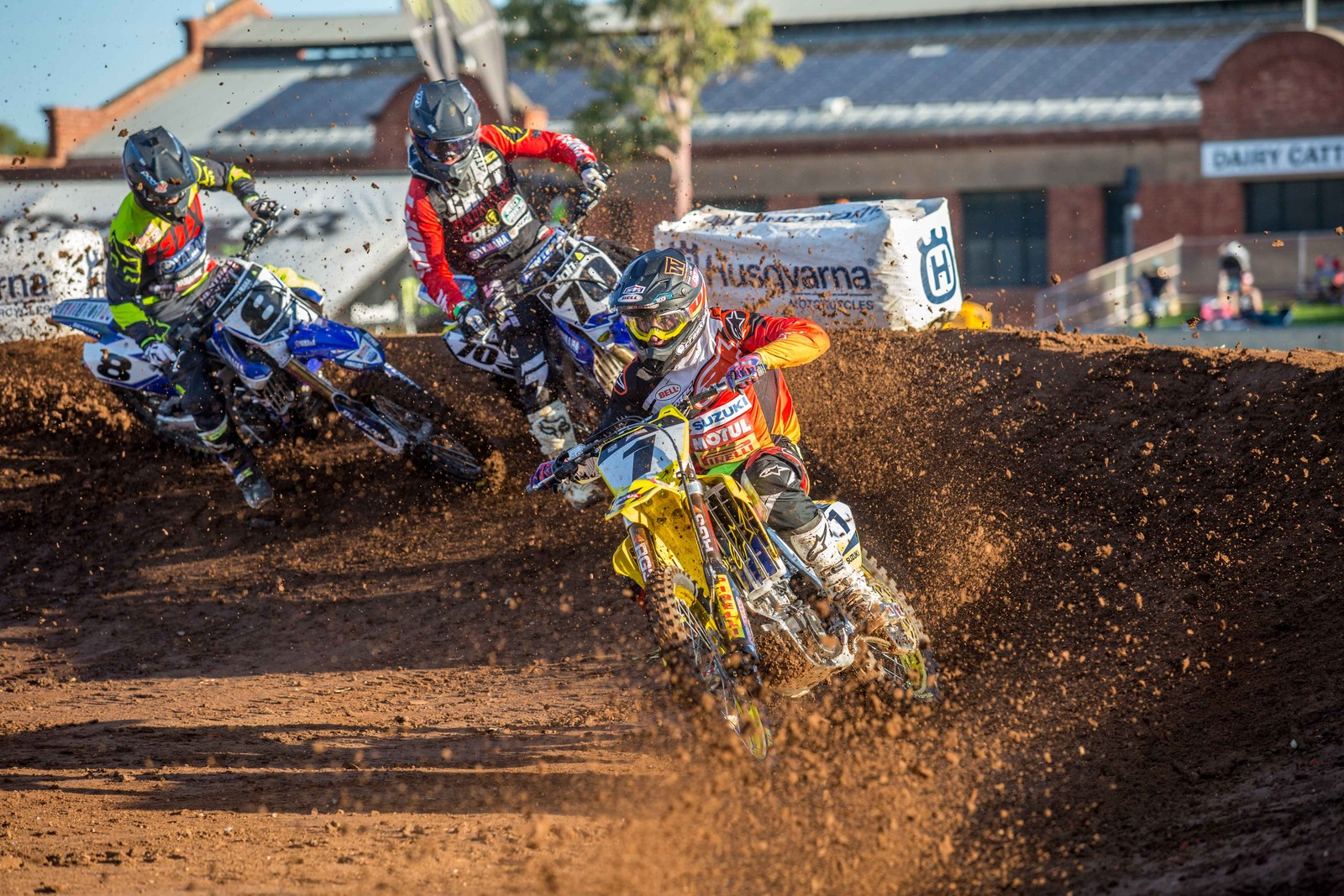Matt Moss - Photo Blast: Australian Supercross Championship from Adelaide - Motocross Pictures - Vital MX