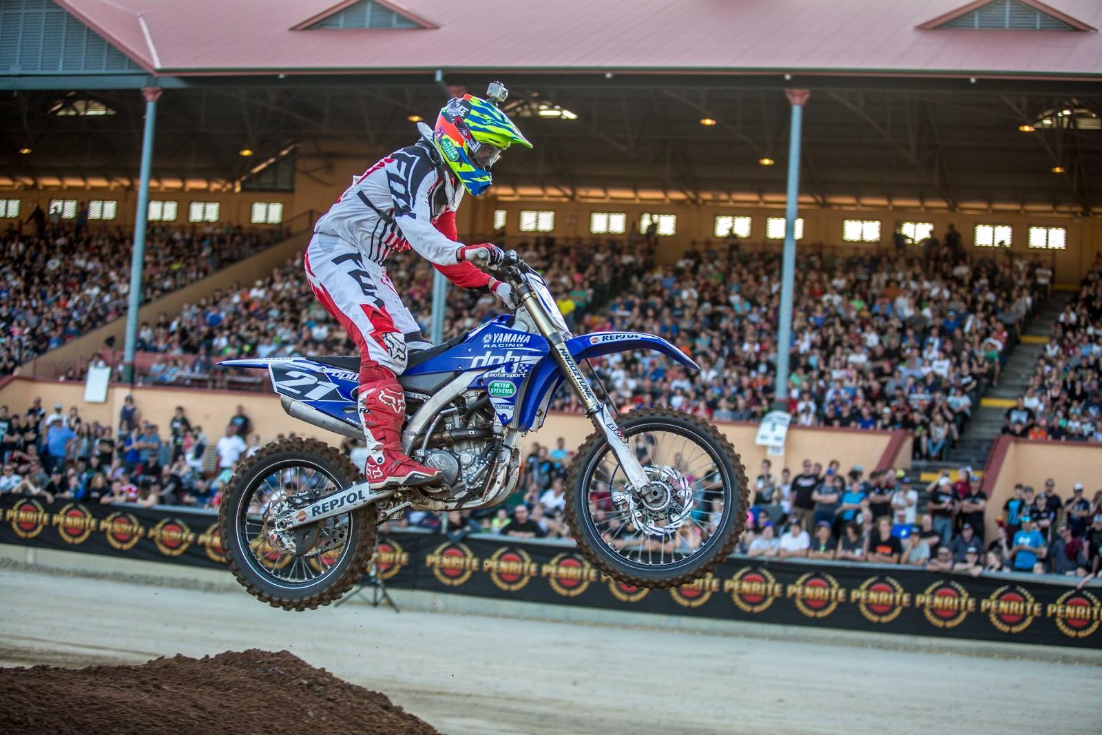 James Brown - Photo Blast: Australian Supercross Championship from Adelaide - Motocross Pictures - Vital MX