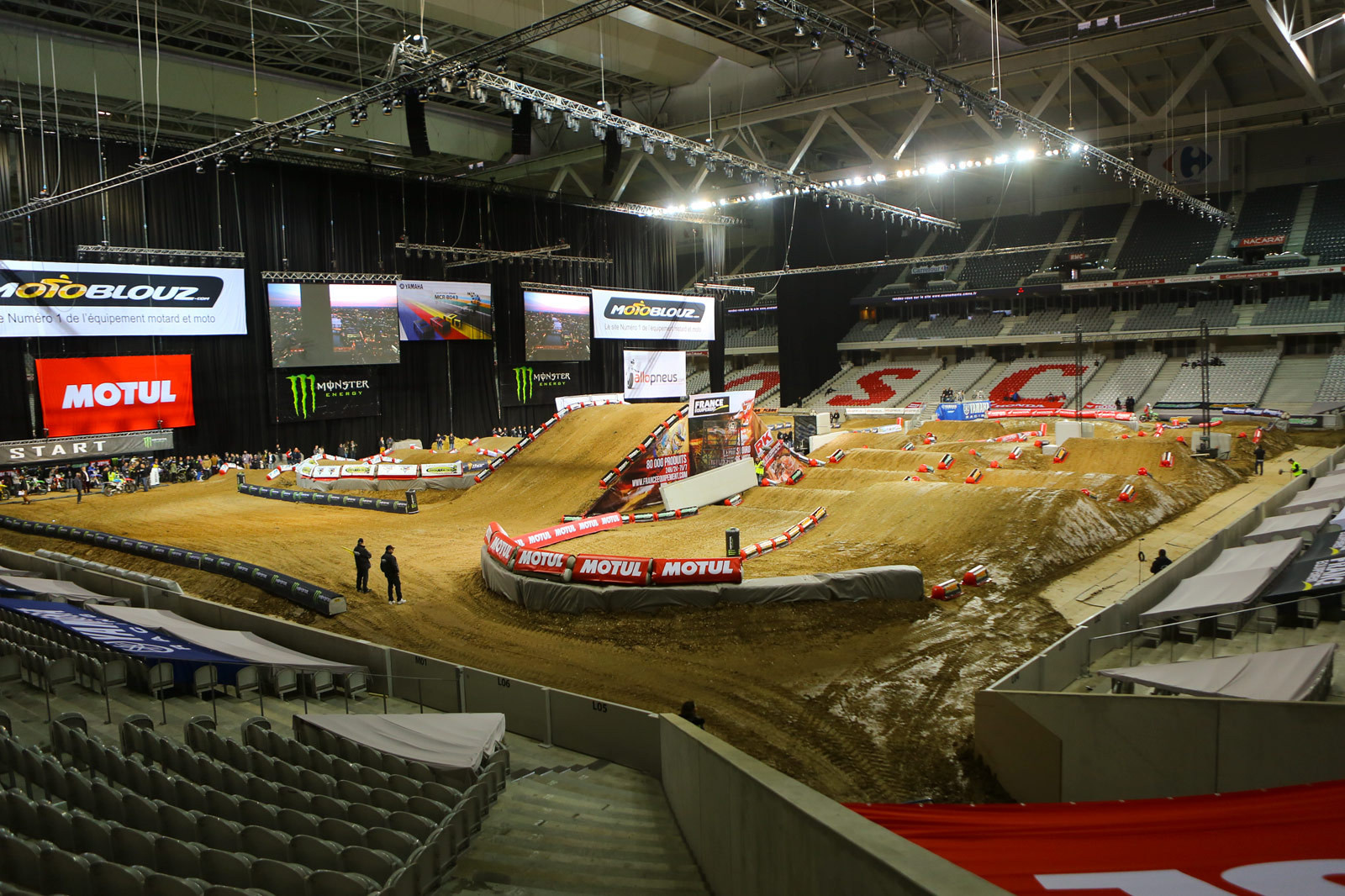Stade Pierre Mauroy - Supercross Paris-Lille: Press Day - Motocross Pictures - Vital MX