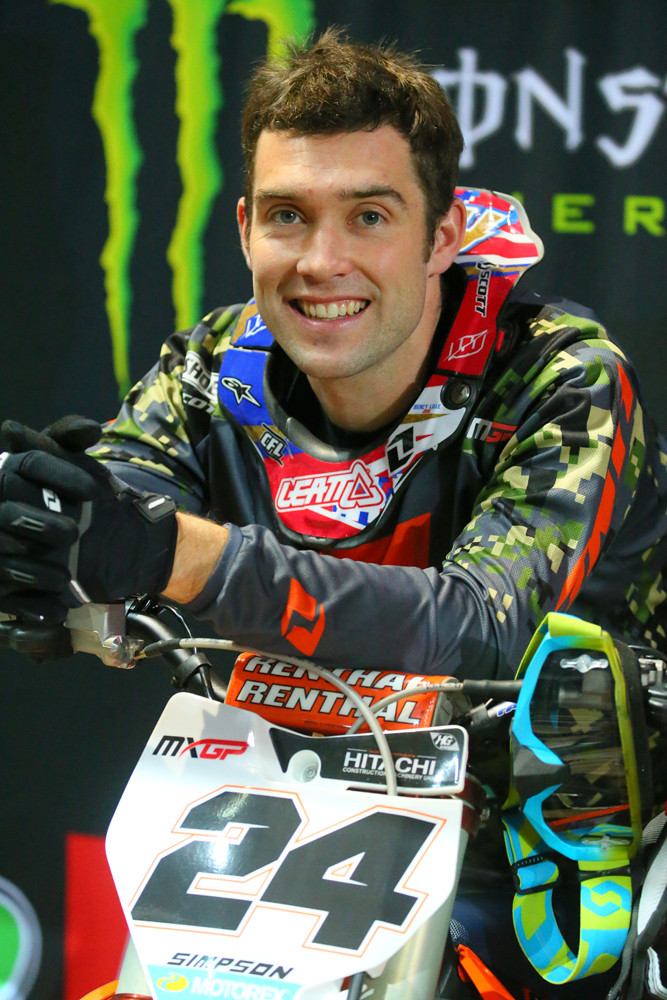 Shaun Simpson - Supercross Paris-Lille: Press Day - Motocross Pictures - Vital MX