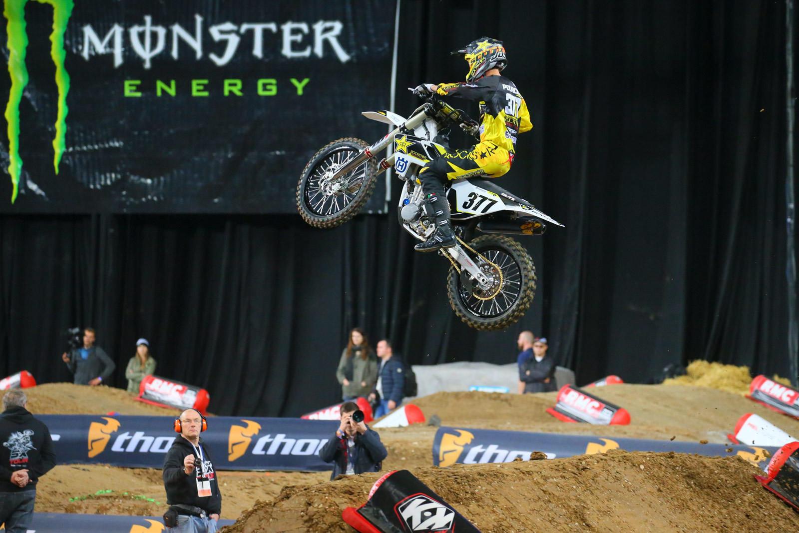 Christophe Pourcel - Supercross Paris-Lille: Press Day - Motocross Pictures - Vital MX