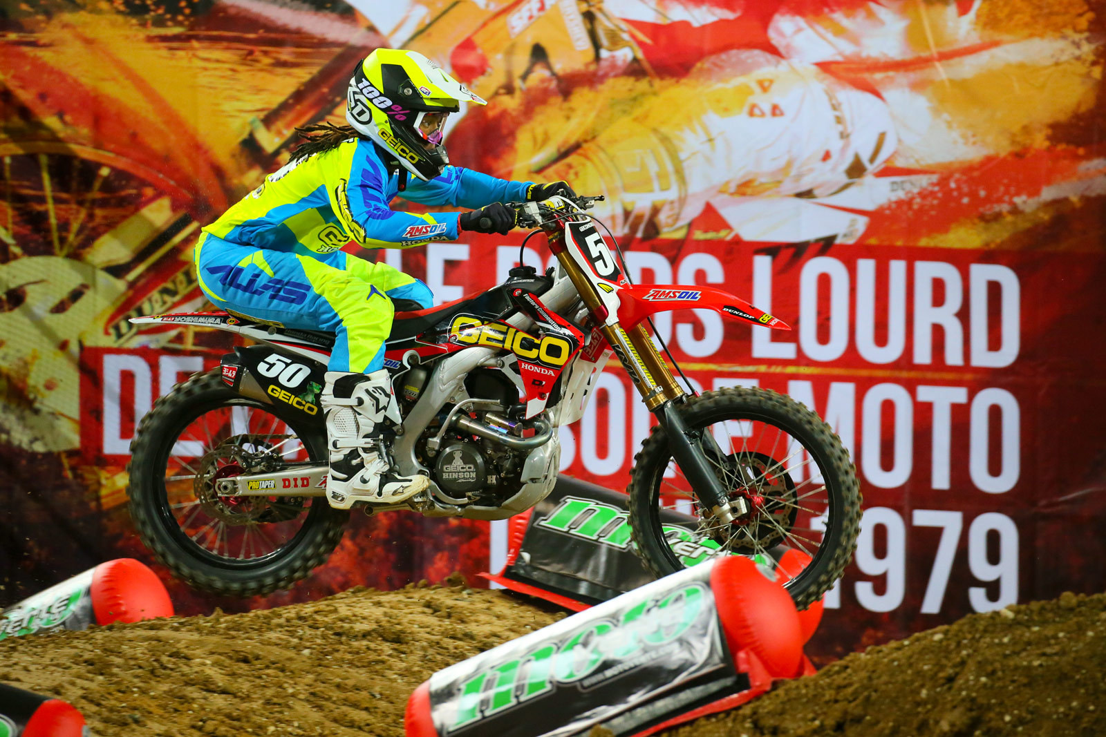 Malcolm Stewart - Supercross Paris-Lille: Press Day - Motocross Pictures - Vital MX