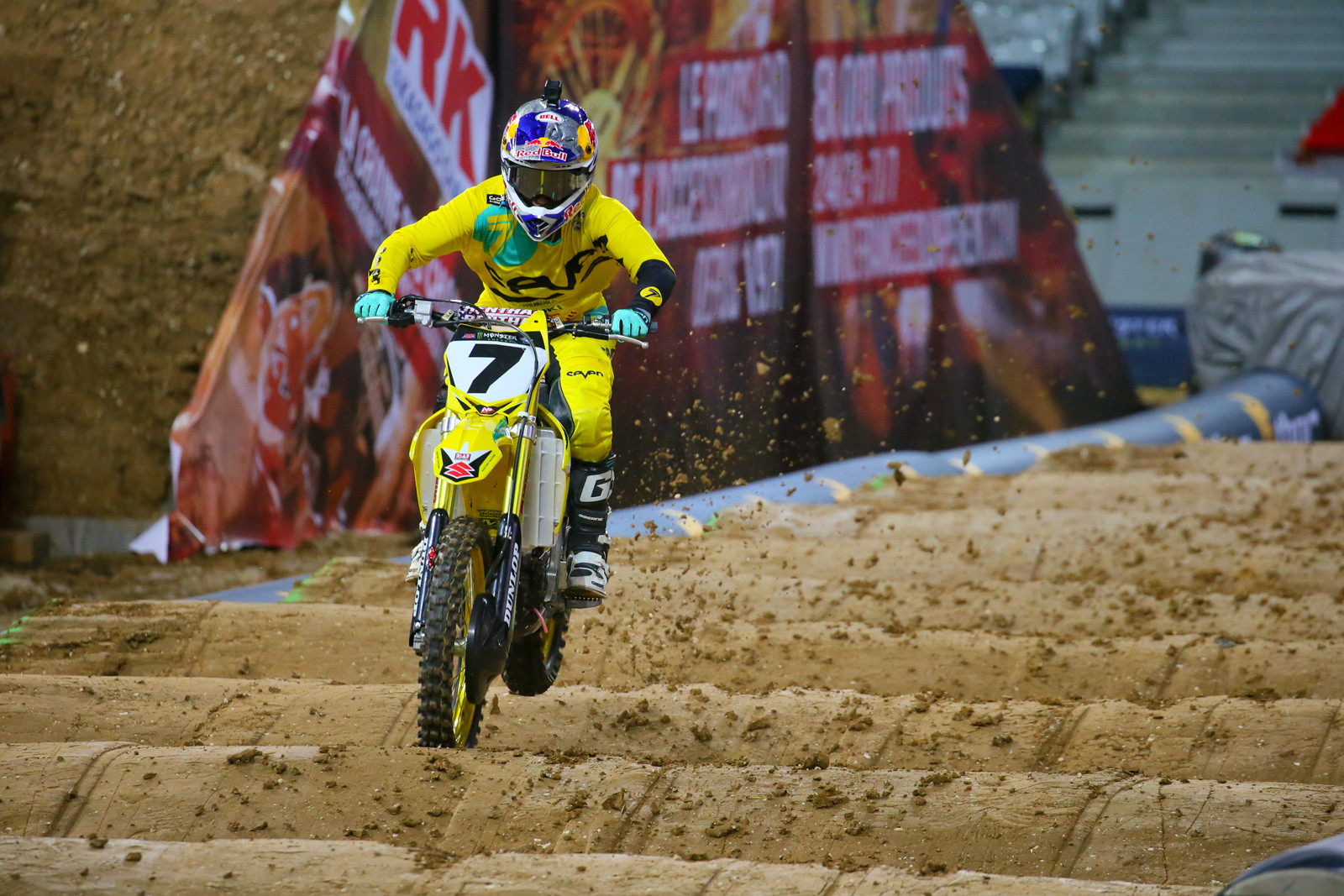 James Stewart - Supercross Paris-Lille: Press Day - Motocross Pictures - Vital MX