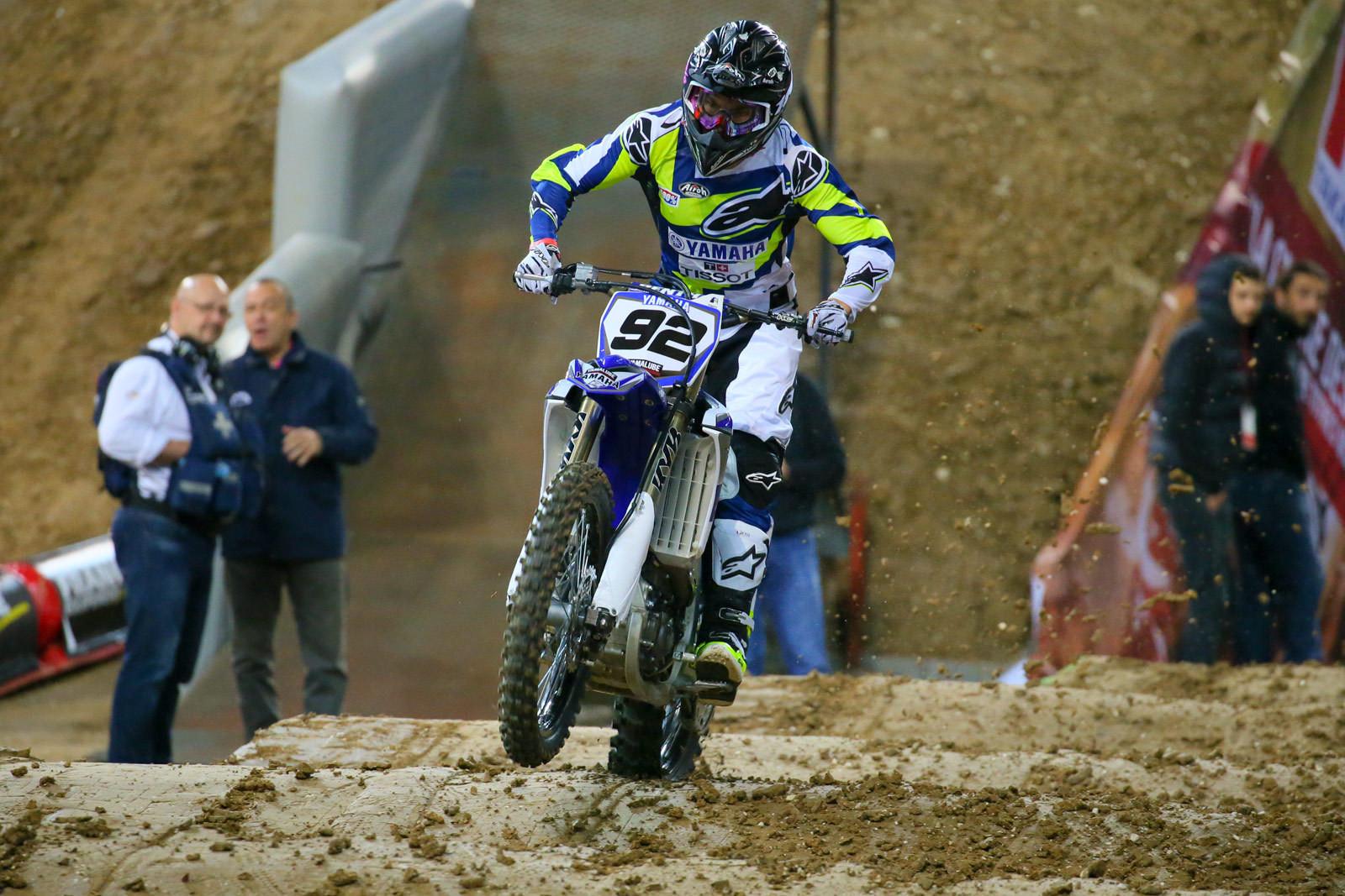 Valentin Guillod - Supercross Paris-Lille: Press Day - Motocross Pictures - Vital MX