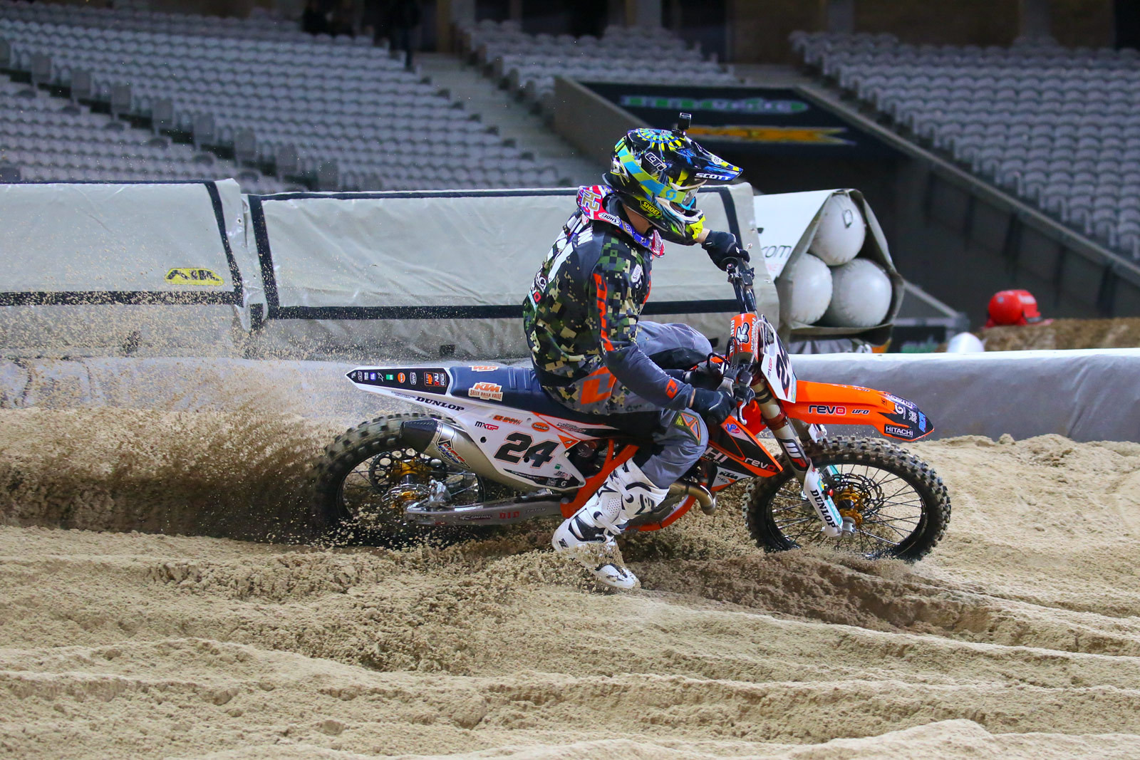 Shaun Simpson - Supercross Paris-Lille: Press Day - Motocross Pictures - Vital MX