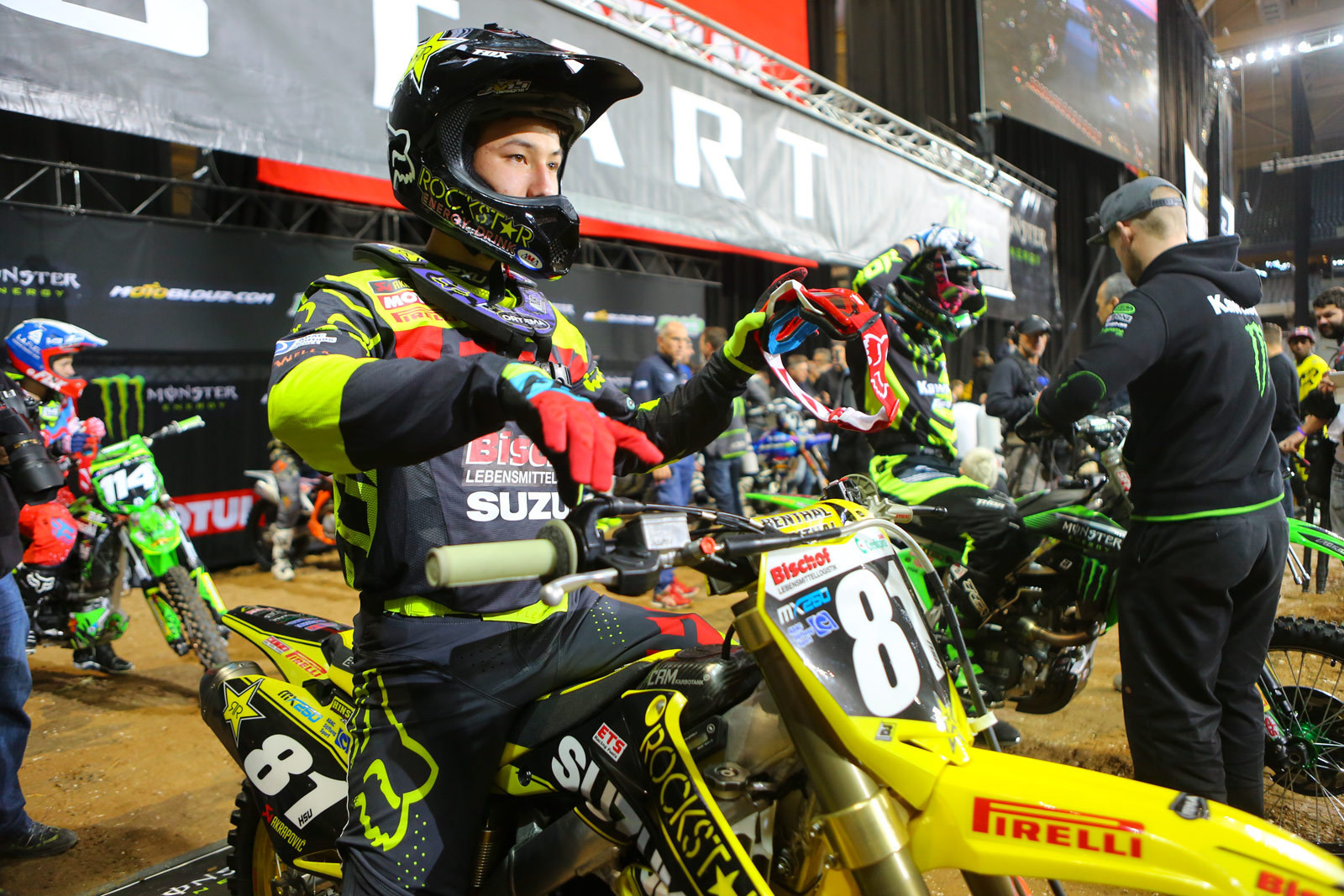 Brian Hsu - Supercross Paris-Lille: Press Day - Motocross Pictures - Vital MX