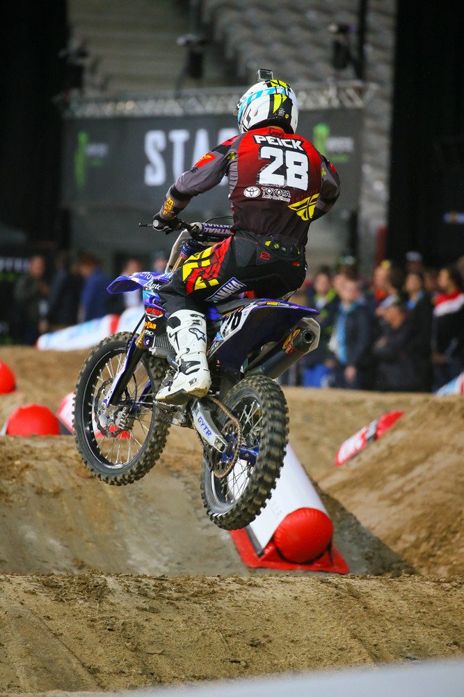 Weston Peick - Supercross Paris-Lille: Press Day - Motocross Pictures - Vital MX