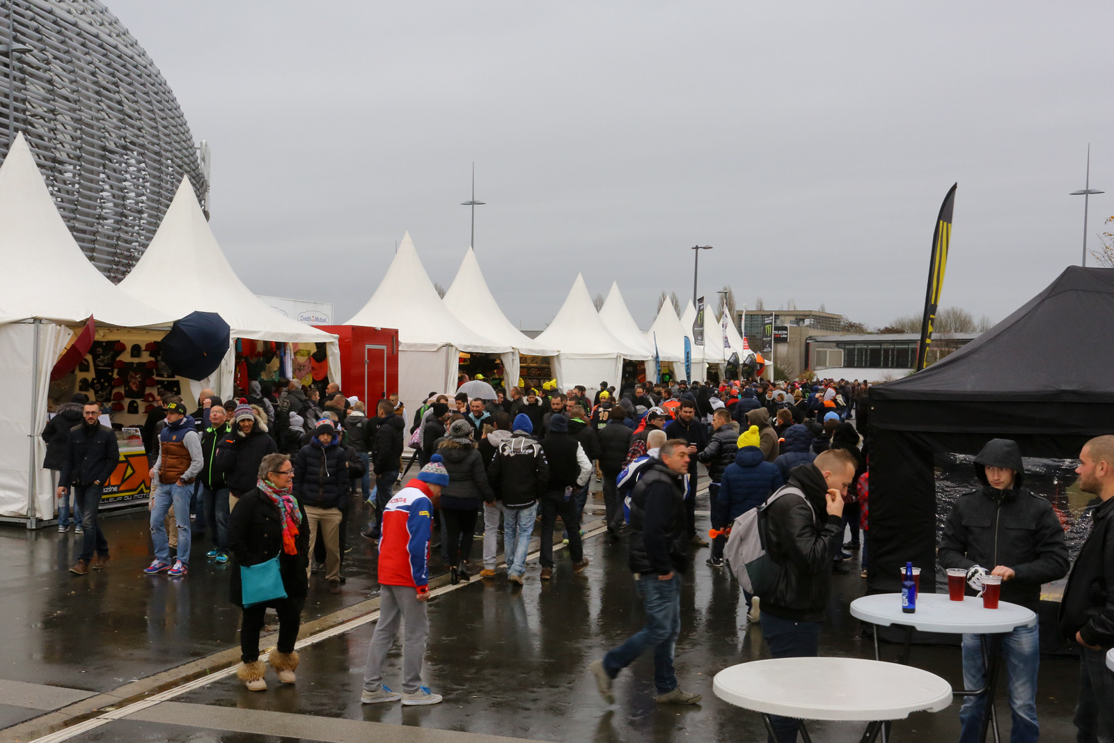 The morning after - Vital MX Pit Bits: Paris-Lille Supercross - Motocross Pictures - Vital MX