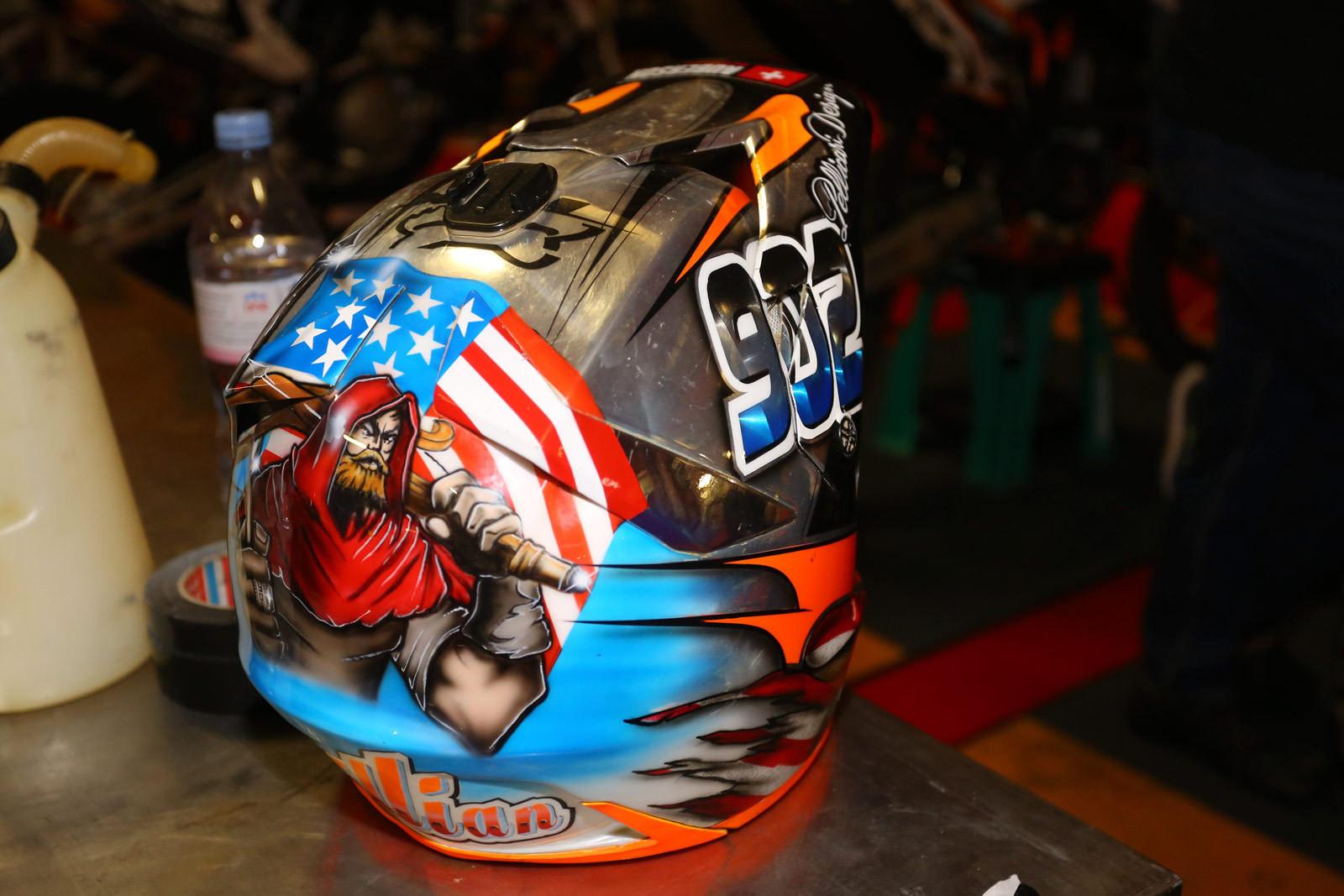 Killian Auberson - Vital MX Pit Bits: Paris-Lille Supercross - Motocross Pictures - Vital MX
