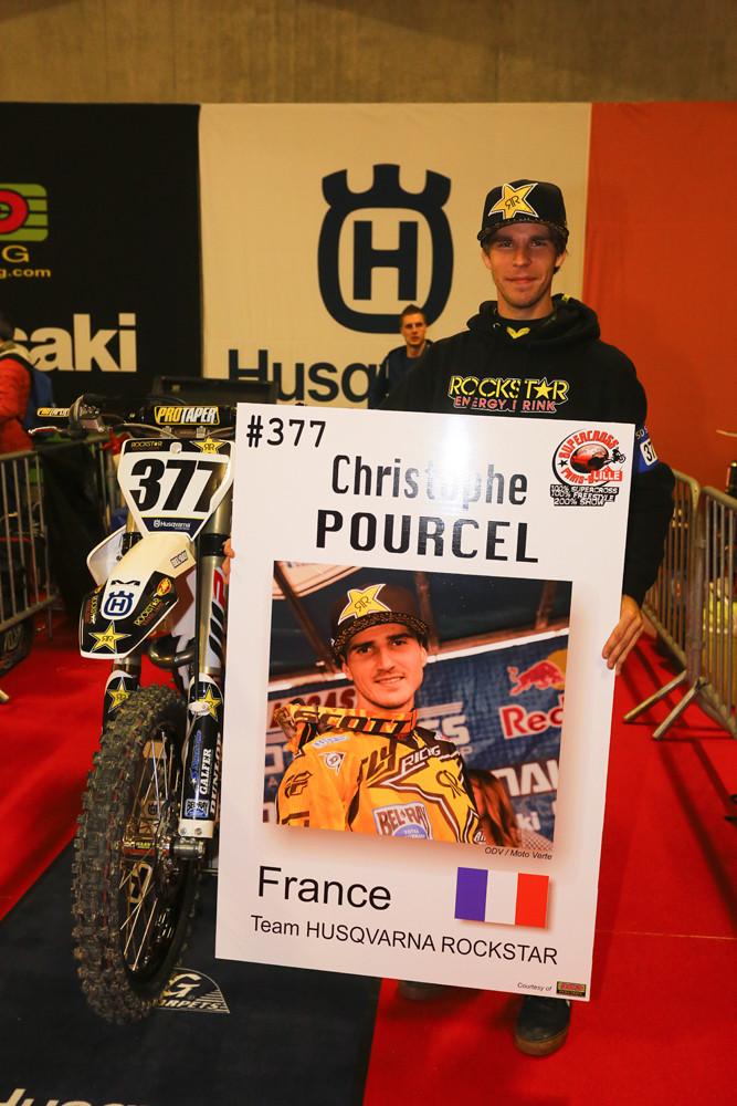 Christophe Pourcel and Daniel Castloo - Vital MX Pit Bits: Paris-Lille Supercross - Motocross Pictures - Vital MX
